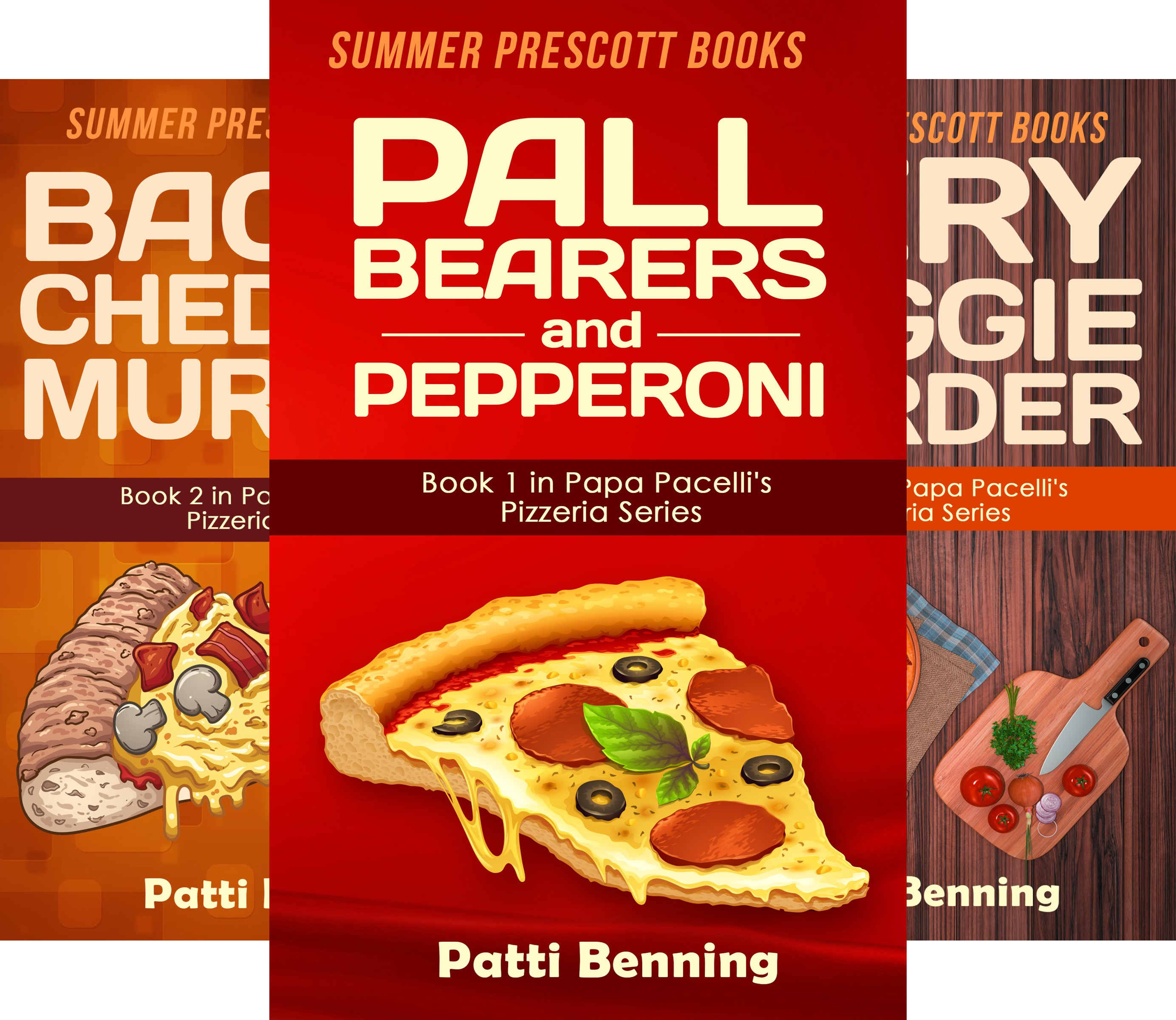The Papa Pacelli's Pizzeria Series (15 Book Series)