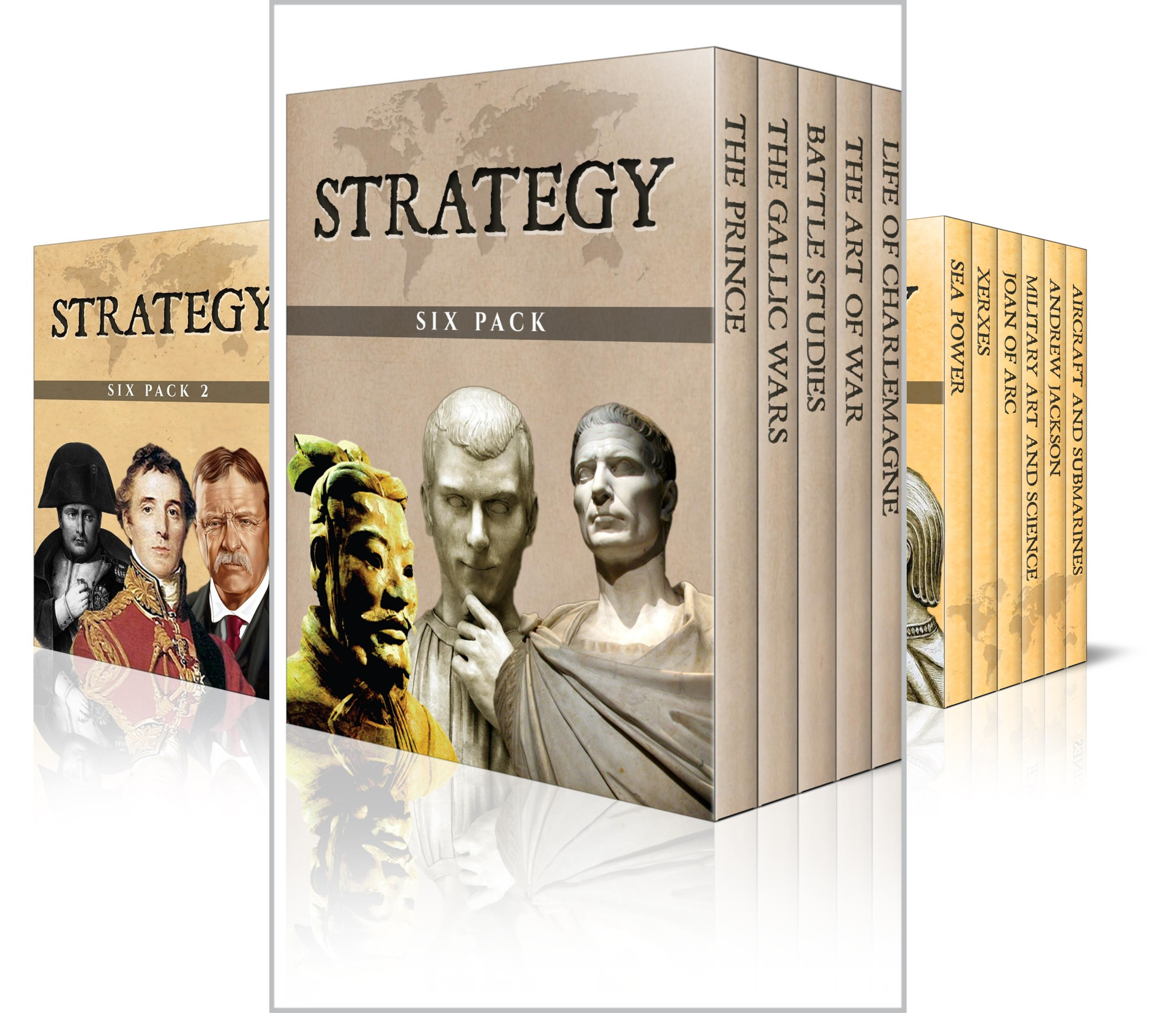 Strategy Six Pack (13 Book Series)