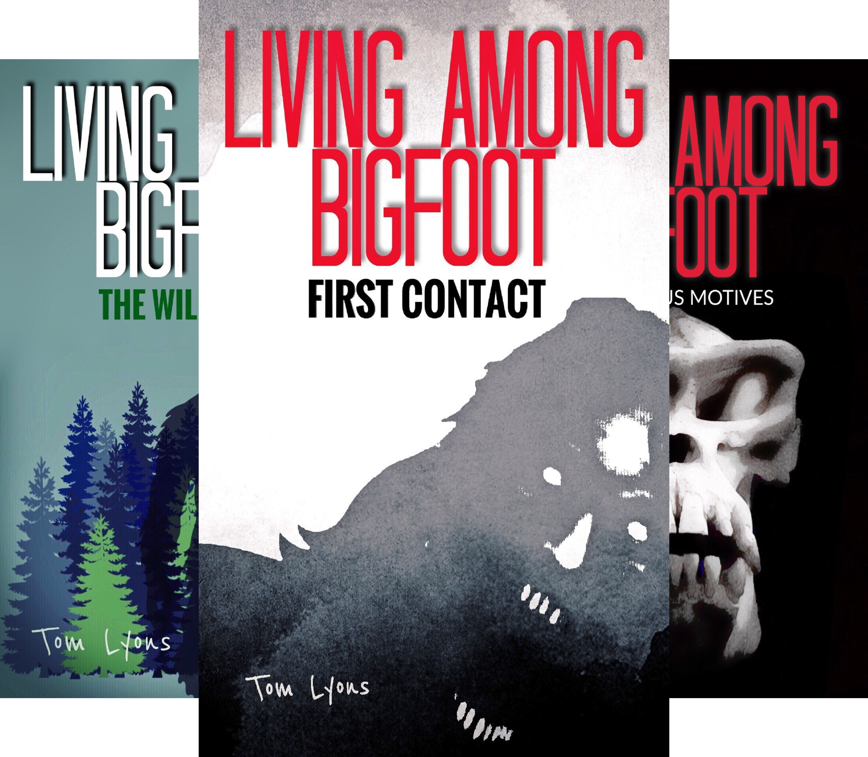 Living Among Bigfoot (9 Book Series)