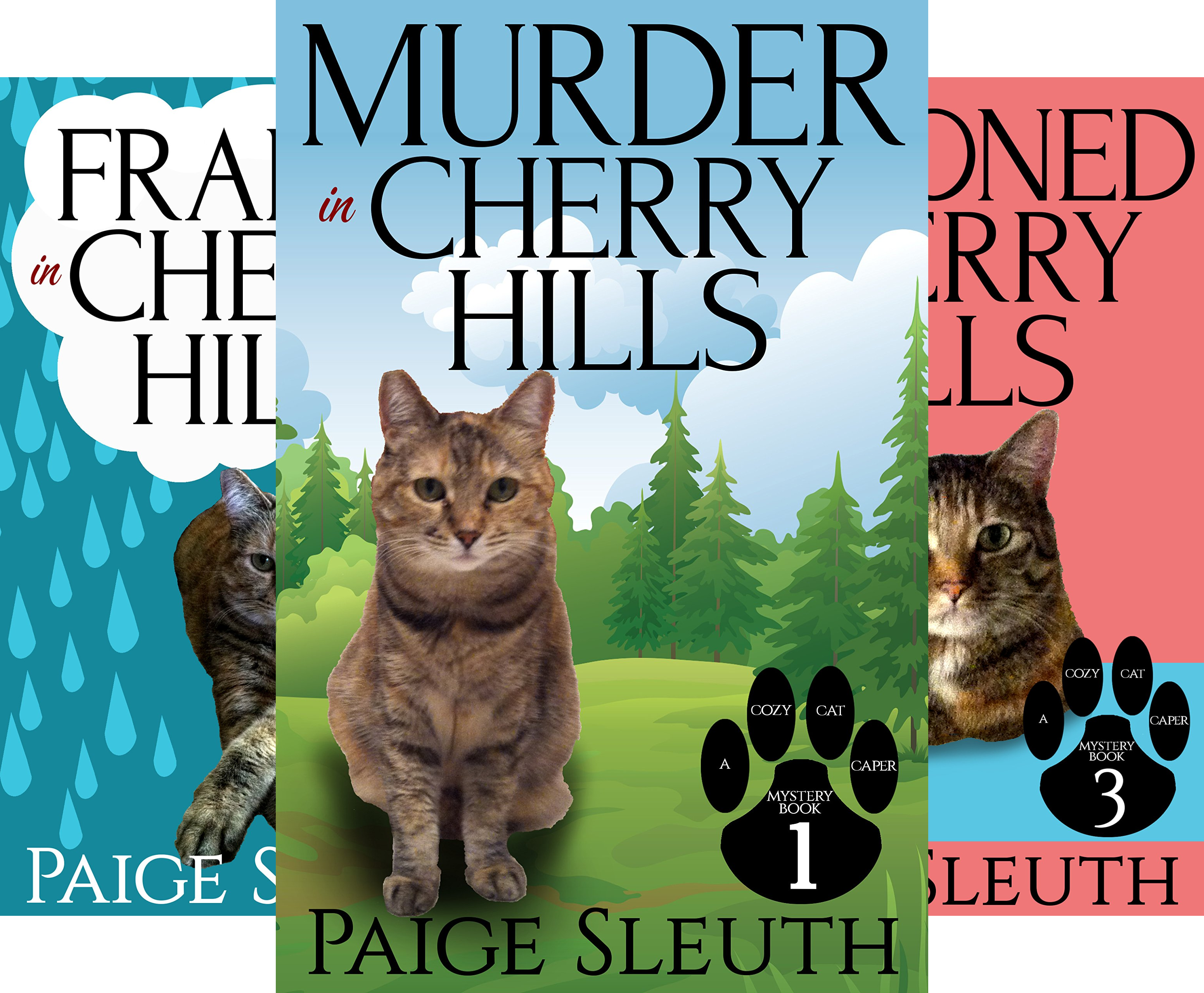 Cozy Cat Caper Mystery (18 Book Series)
