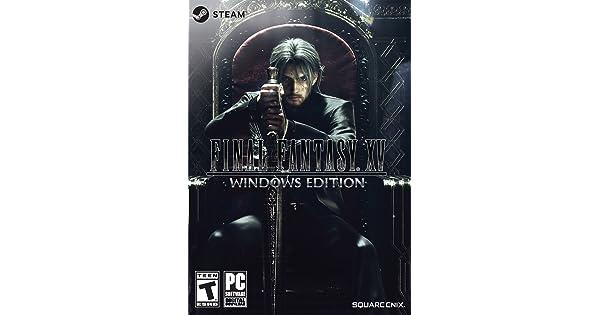 Final Fantasy XV Windows Edition [Online Game Code]: Amazon ae