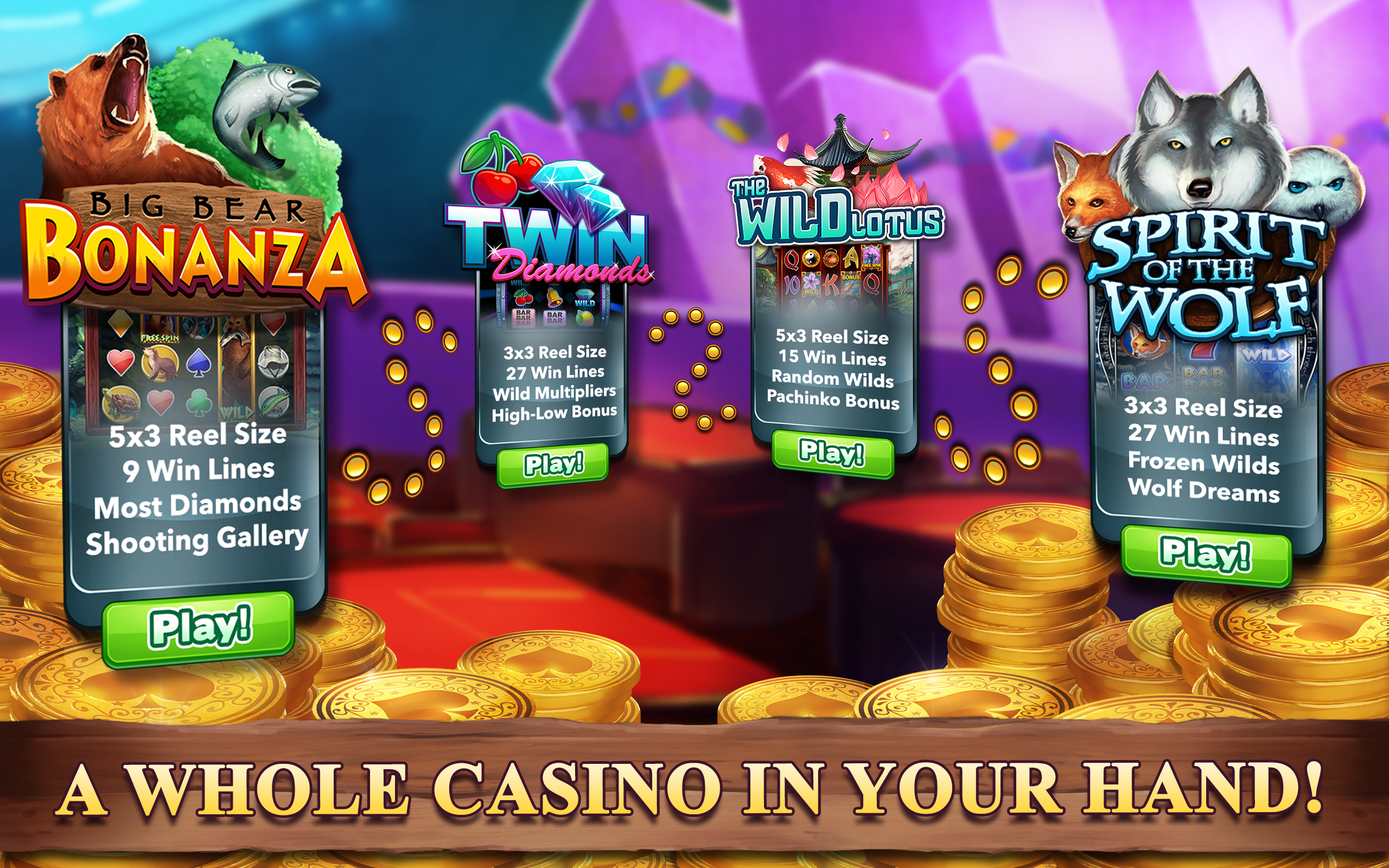 Grizzly bear casino slots