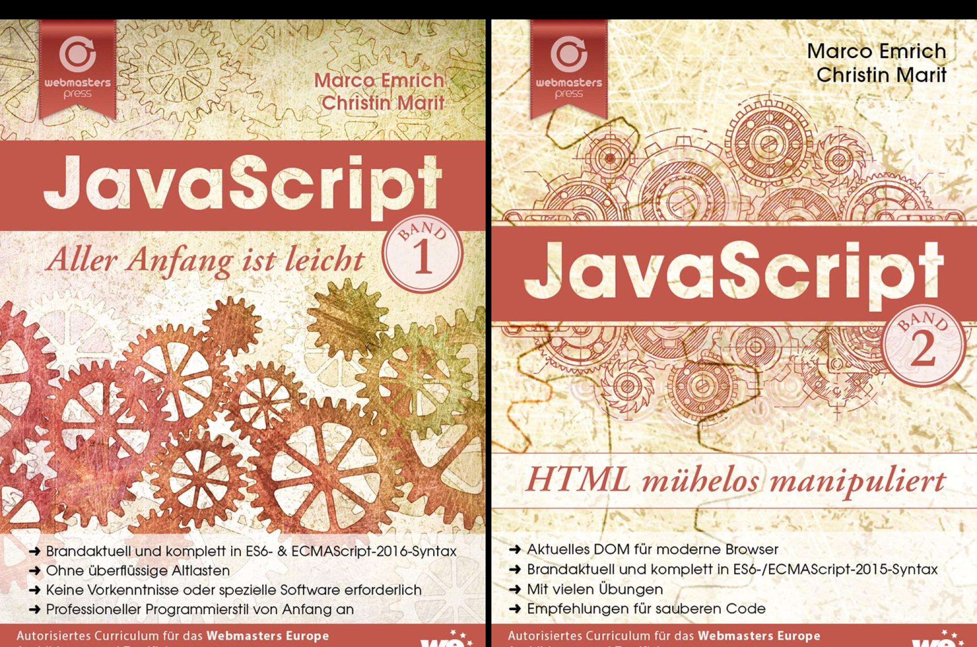 JavaScript (Reihe in 2 Bänden)