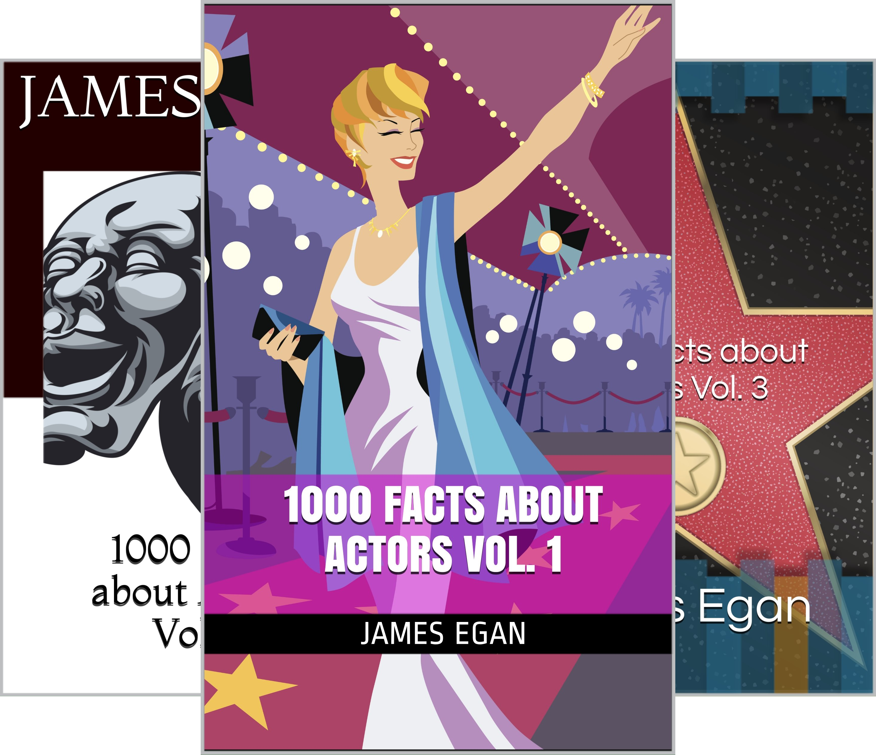 1000 Facts about Actors (3 Book Series)