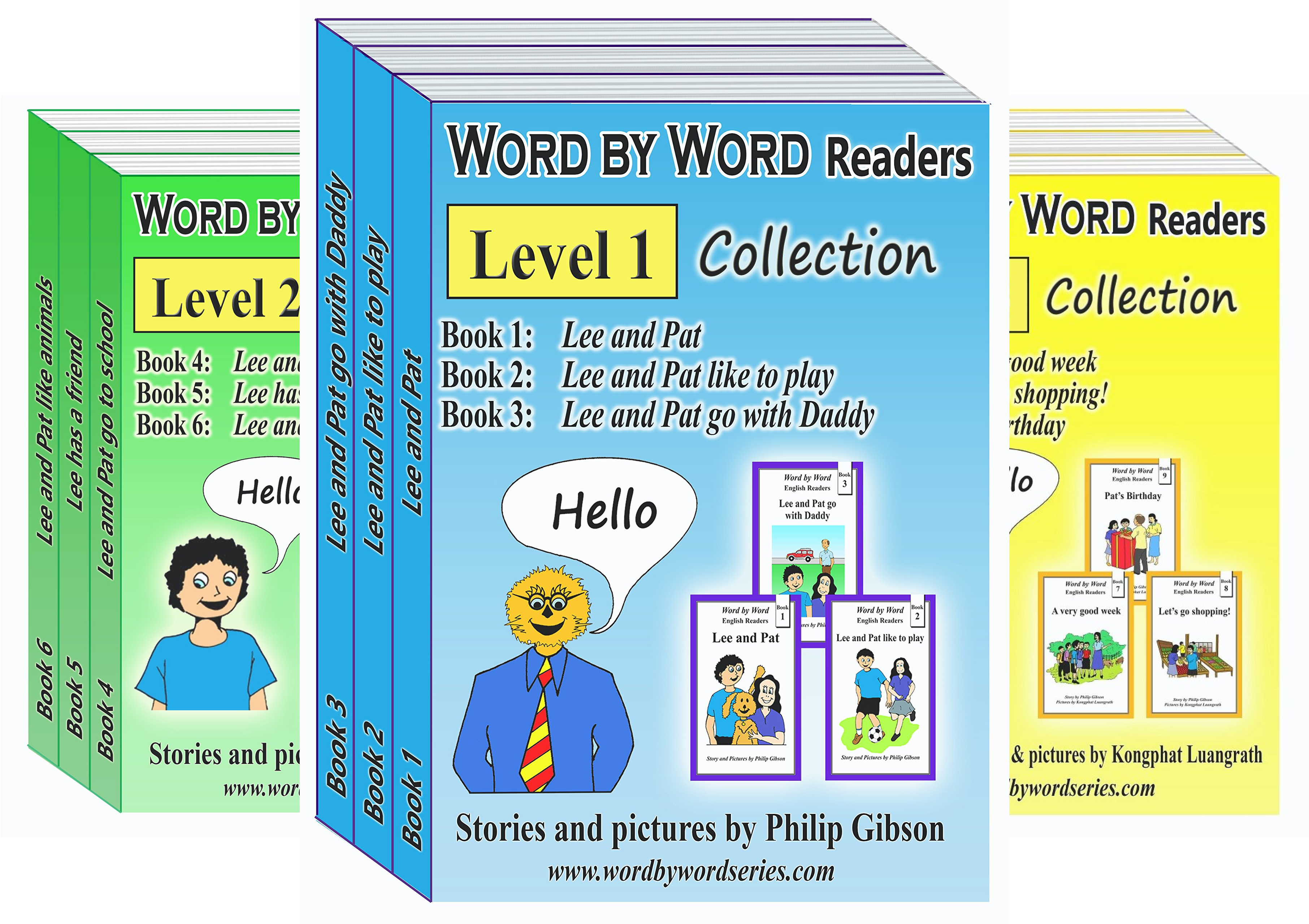 Word by Word Collections (3 Book Series)