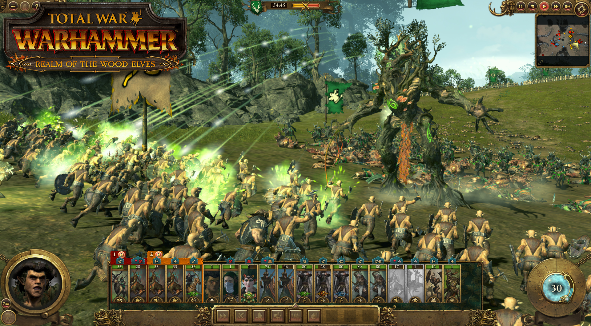 Total War: WARHAMMER - The Realm of the Wood Elves DLC [Online Game Code]