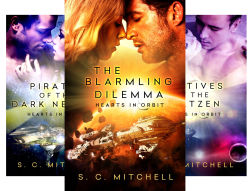 Hearts In Orbit (3 Book Series) by  S.C. Mitchell S. C. Mitchell