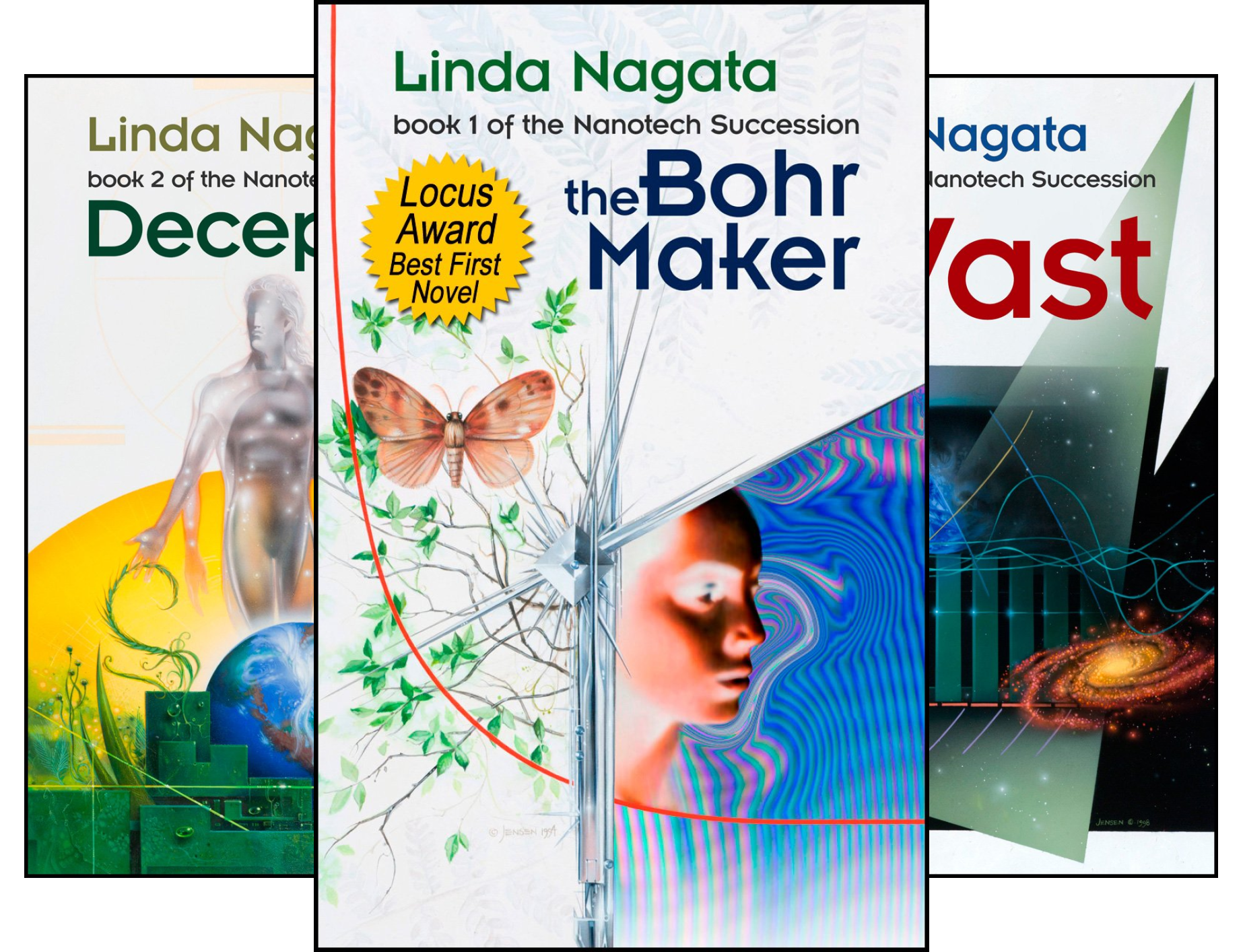 The Nanotech Succession (3 Book Series)