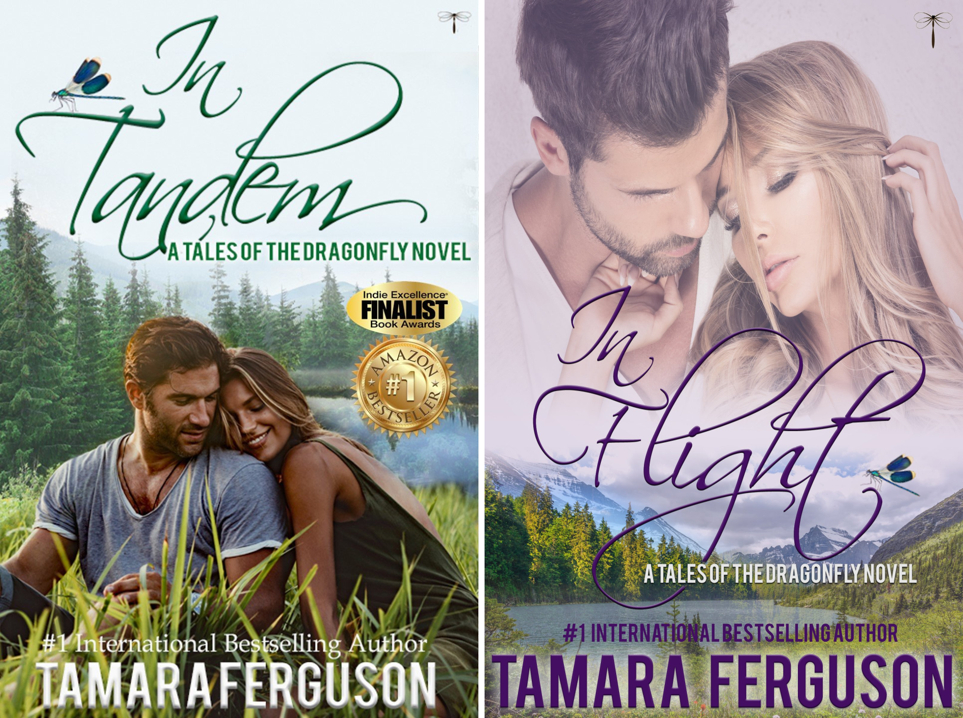 Tales of the Dragonfly (2 Book Series)