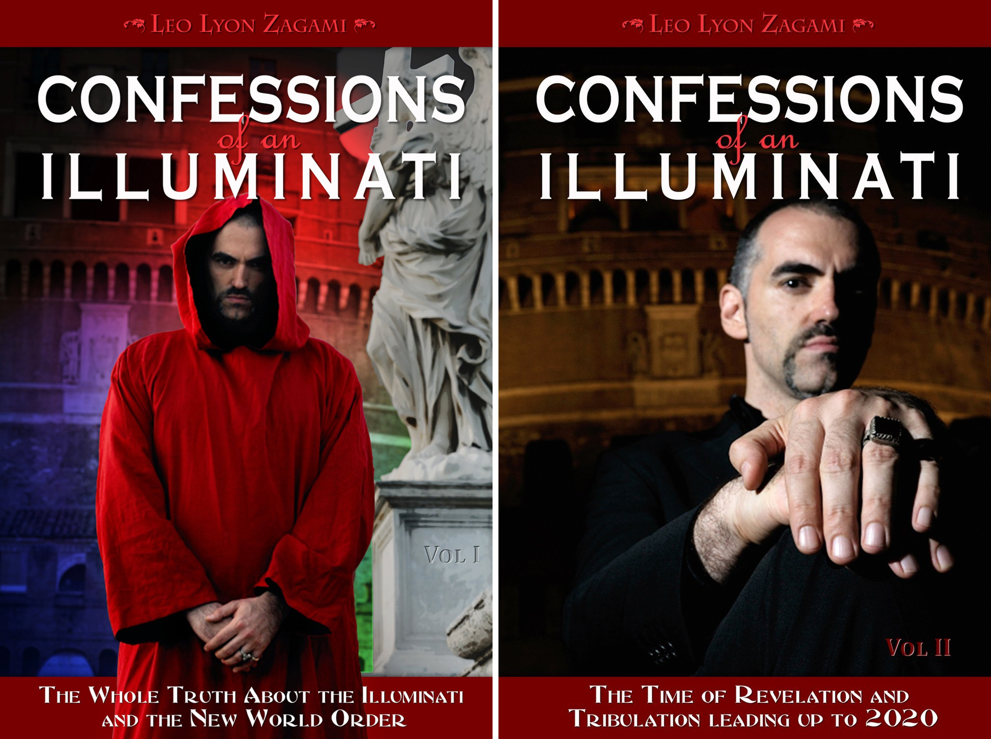 Confessions of an Illuminati (2 Book Series)