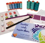 Cotton Cuts - Chroma - Premium Aurifil Thread Subscription Box