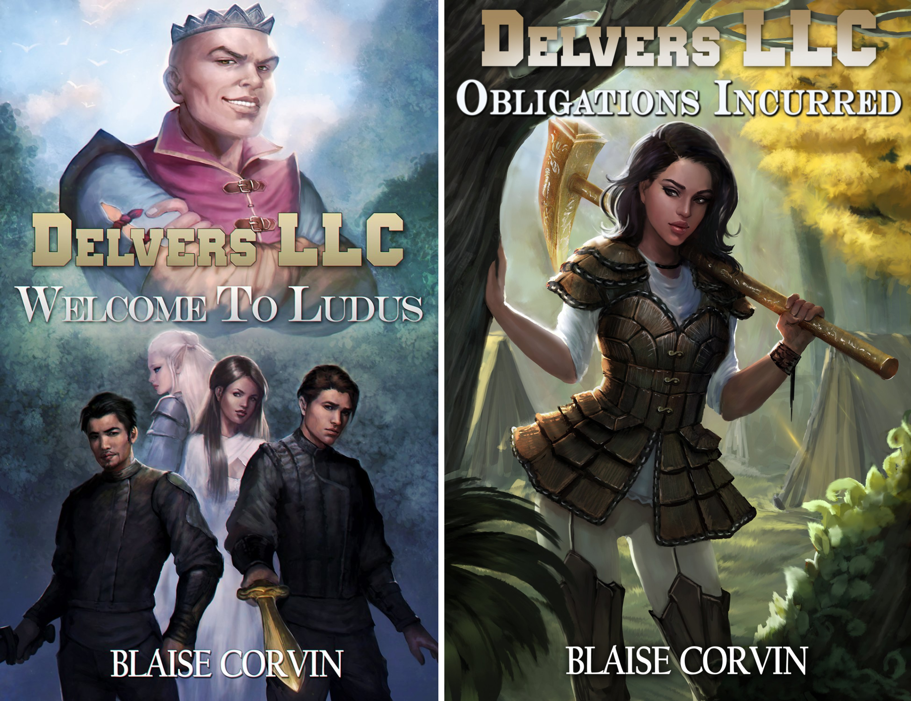 Delvers LLC (2 Book Series)