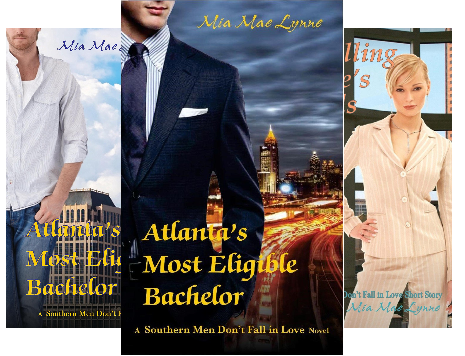 Southern Men Don't Fall In Love (5 Book Series)