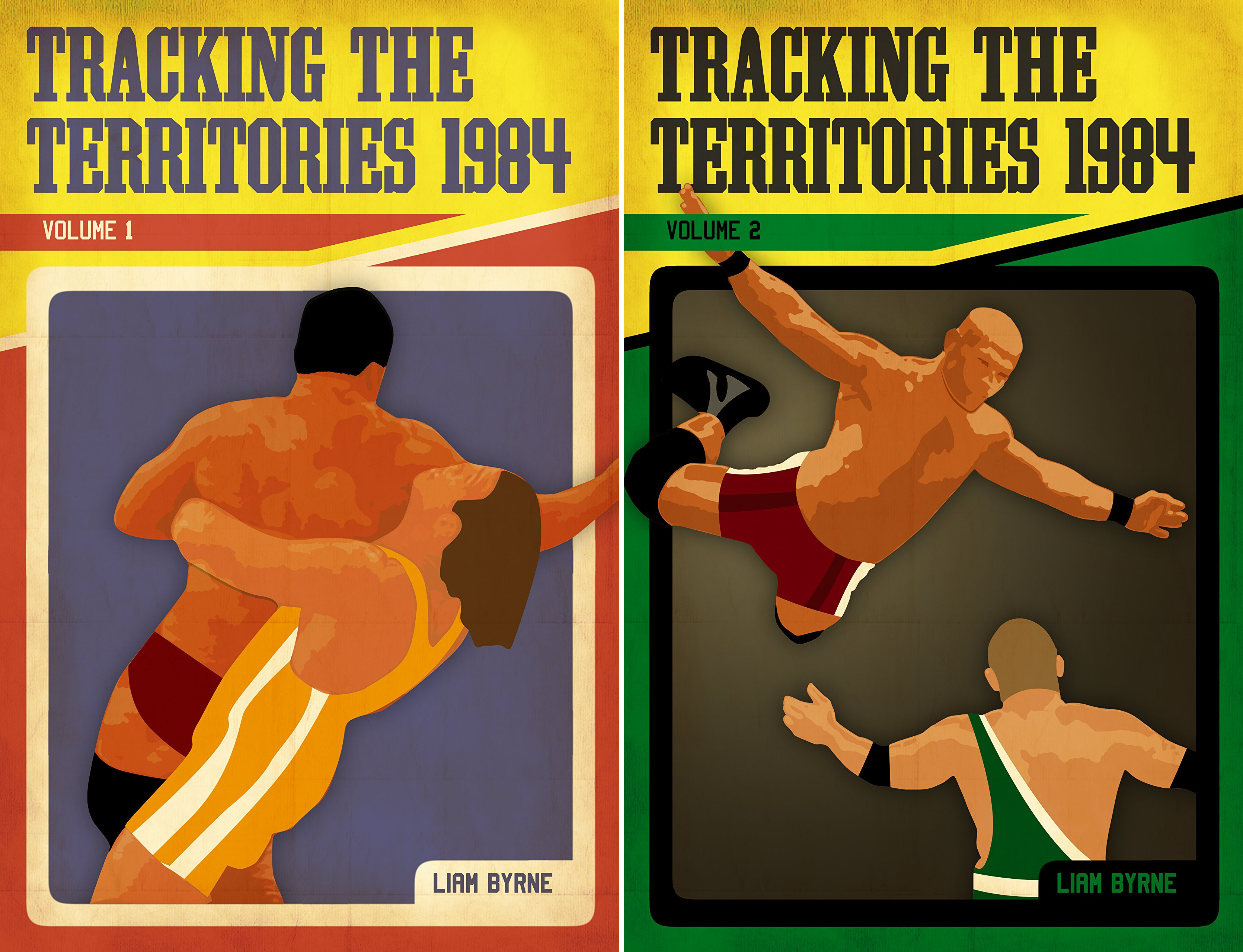 Tracking the Territories (2 Book Series)