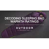 Decoding Sleeping Bag Warmth Ratings