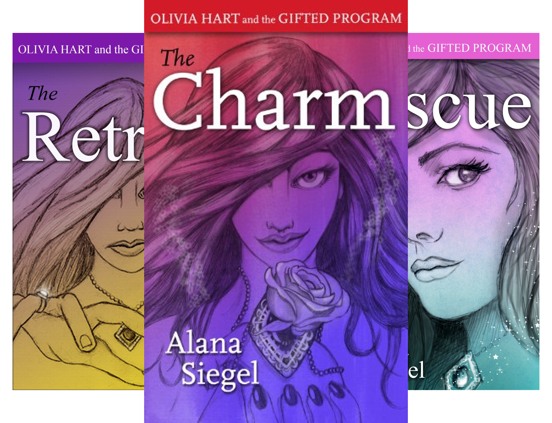 Olivia Hart and the Gifted Program (3 Book Series)