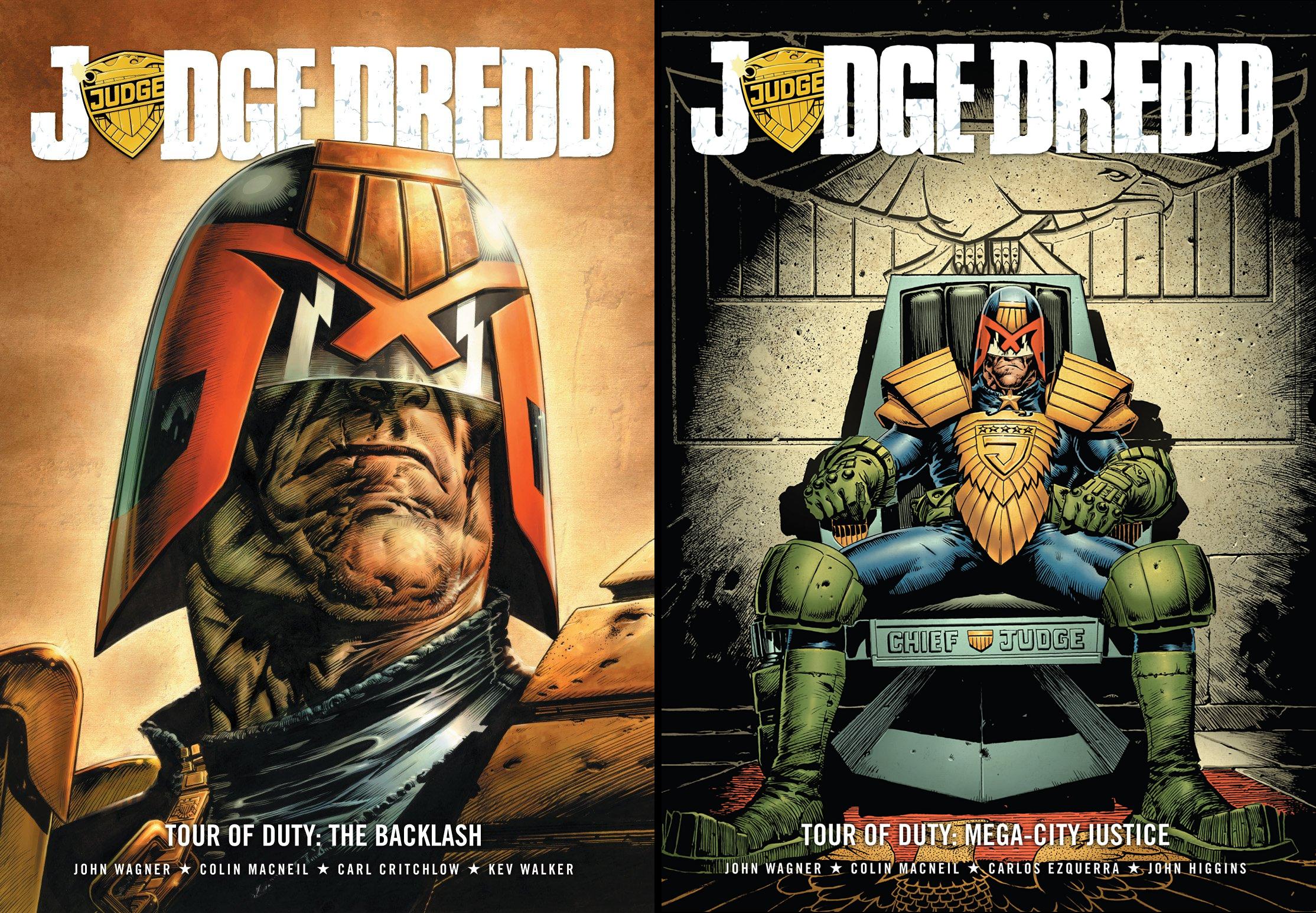 Judge Dredd- Tour of Duty Series (2 Book Series)