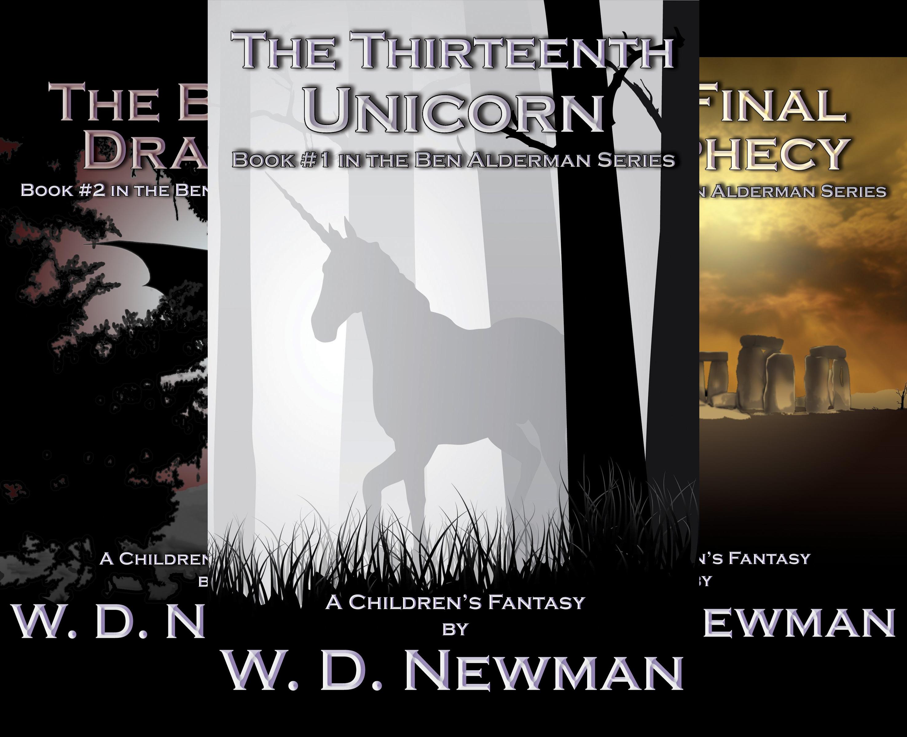 The Ben Alderman Series (3 Book Series)