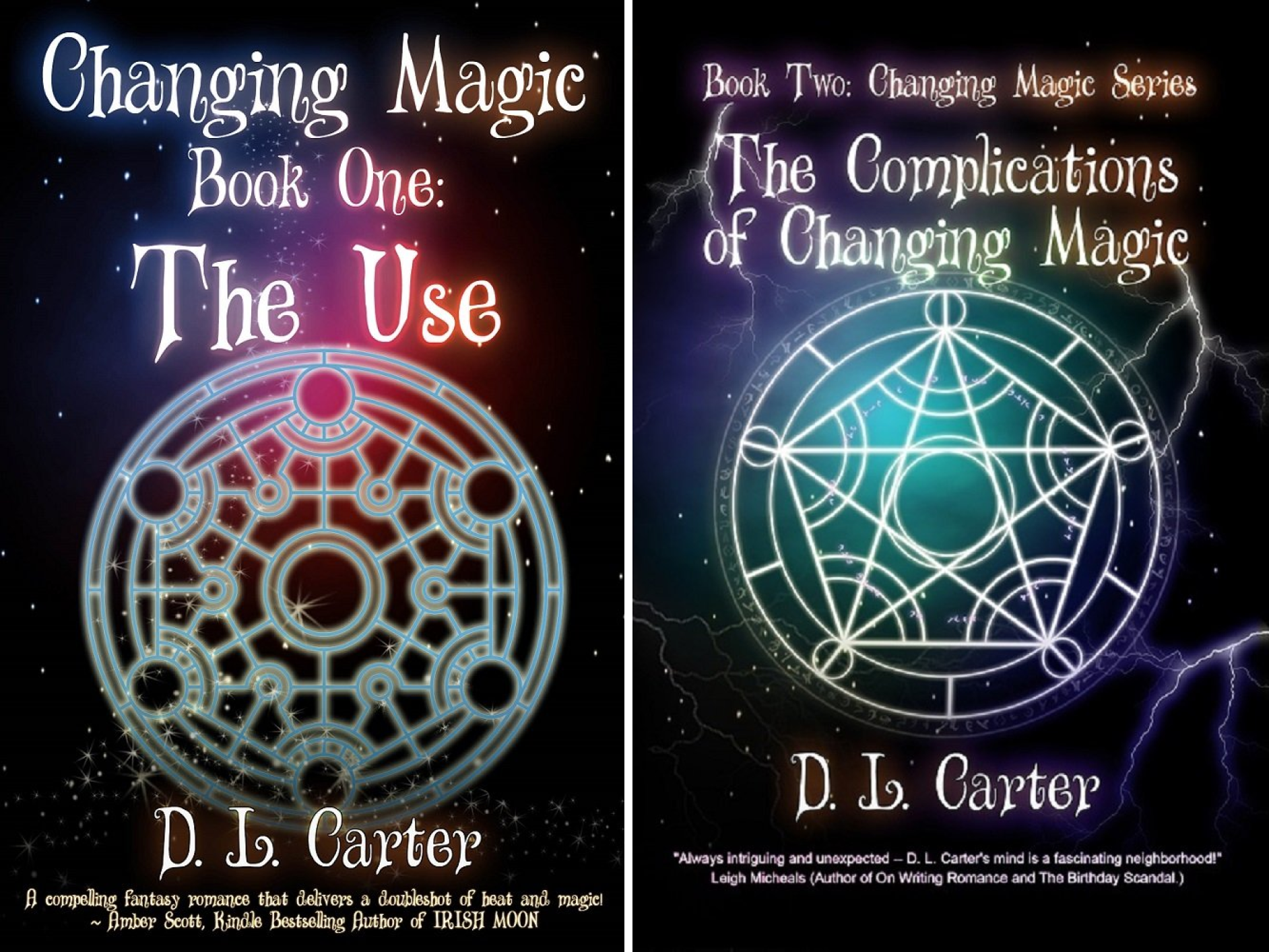 Changing Magic (2 Book Series)