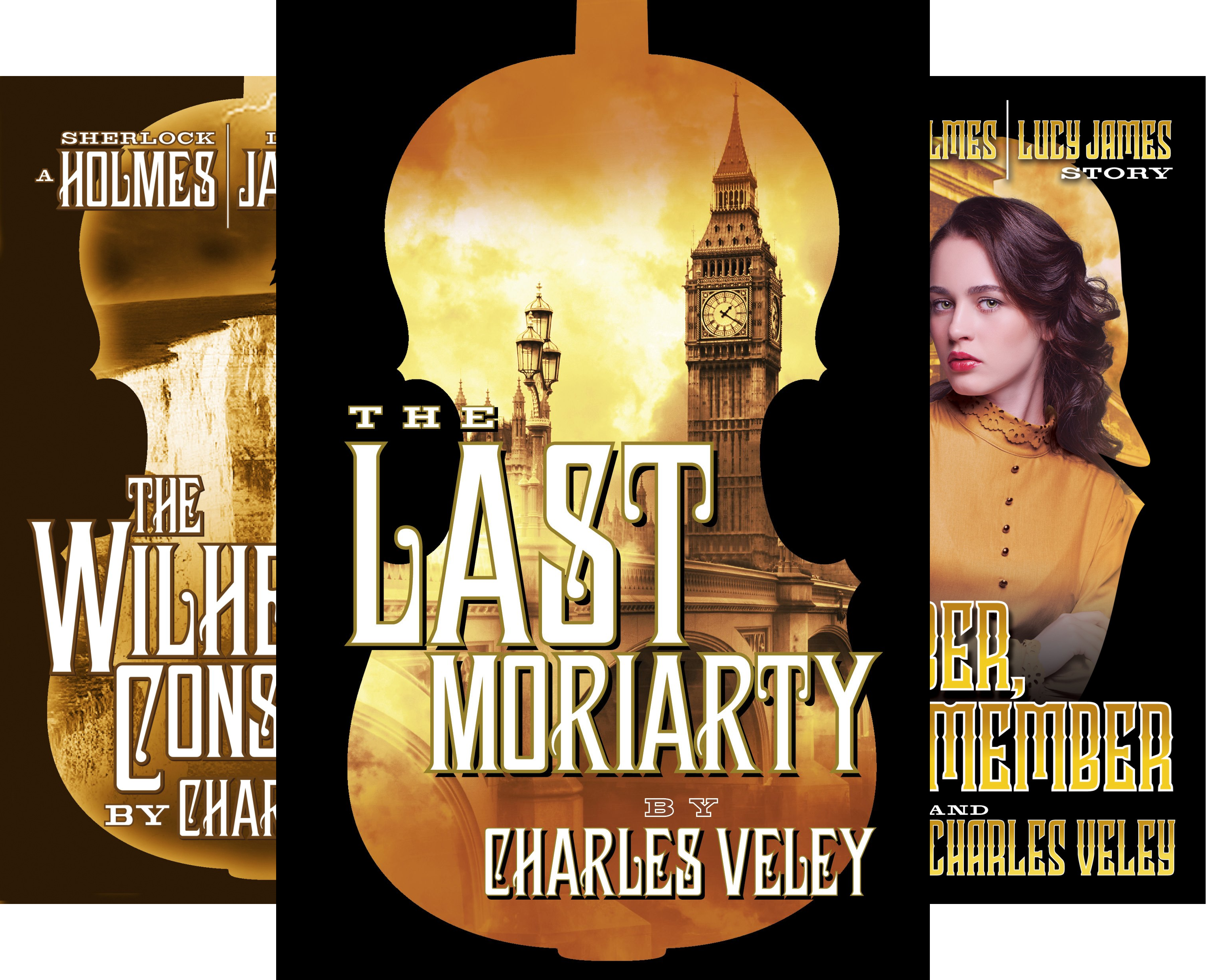 A Sherlock Holmes and Lucy James Mystery (3 Book Series)