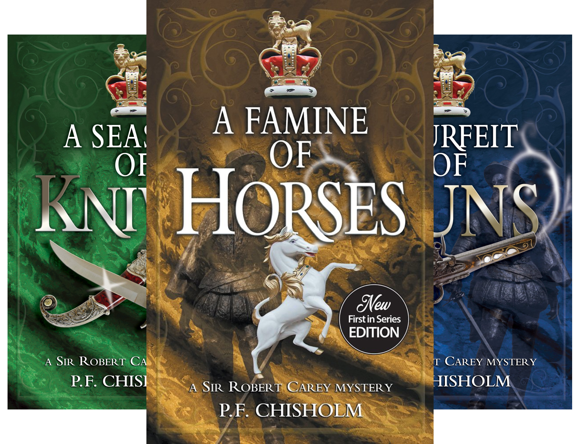 Sir Robert Carey Mysteries (9 Book Series)
