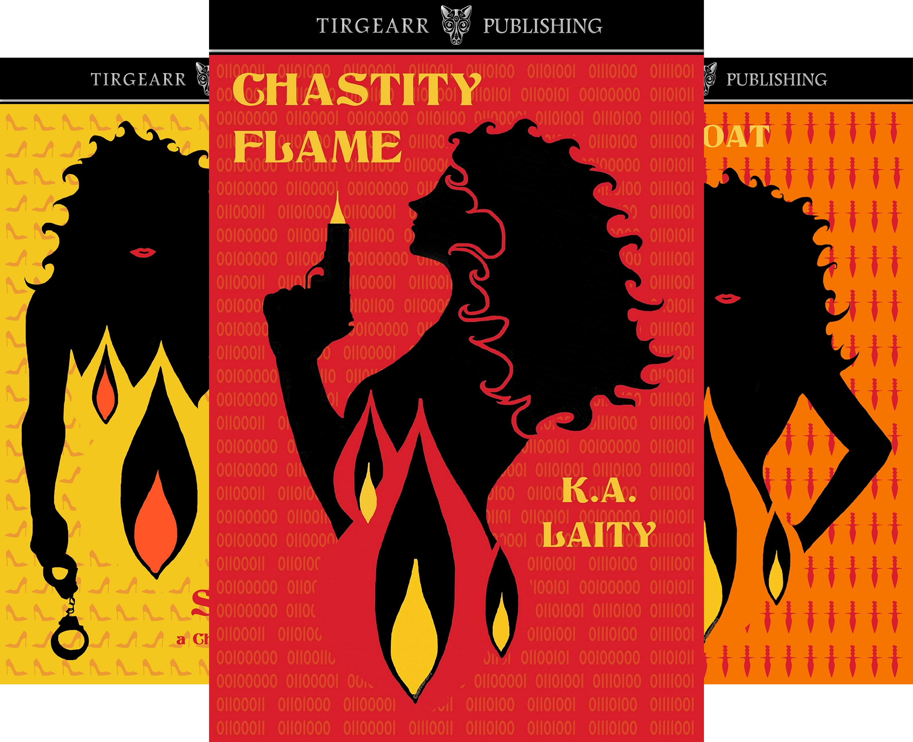 A Chastity Flame Adventure (3 Book Series)