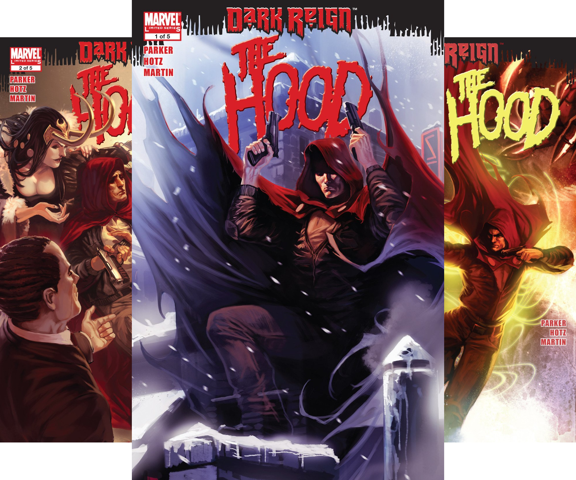 Dark Reign: The Hood (2009) (Issues) (5 Book Series)