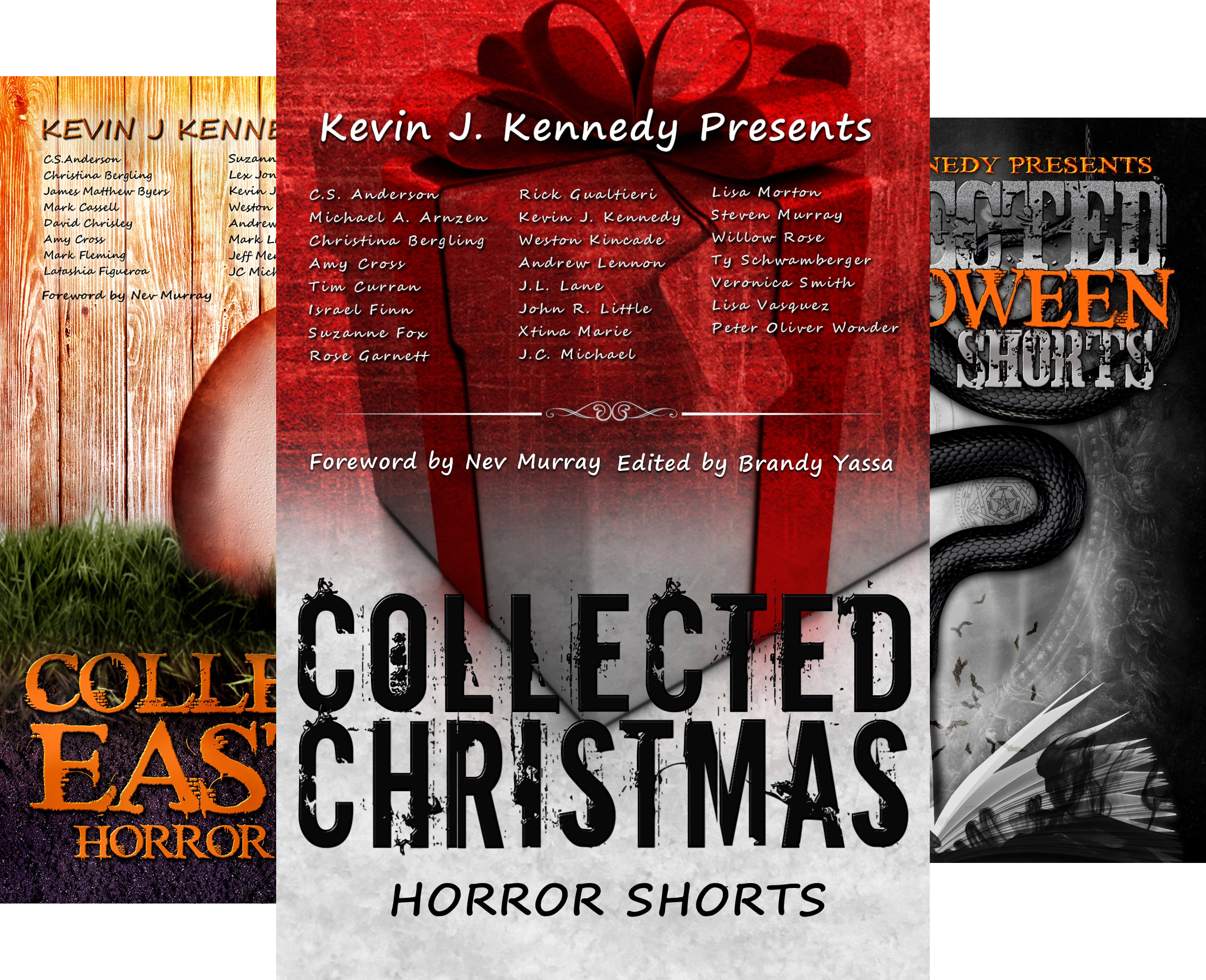 Books : Collected Horror Shorts (4 Book Series)