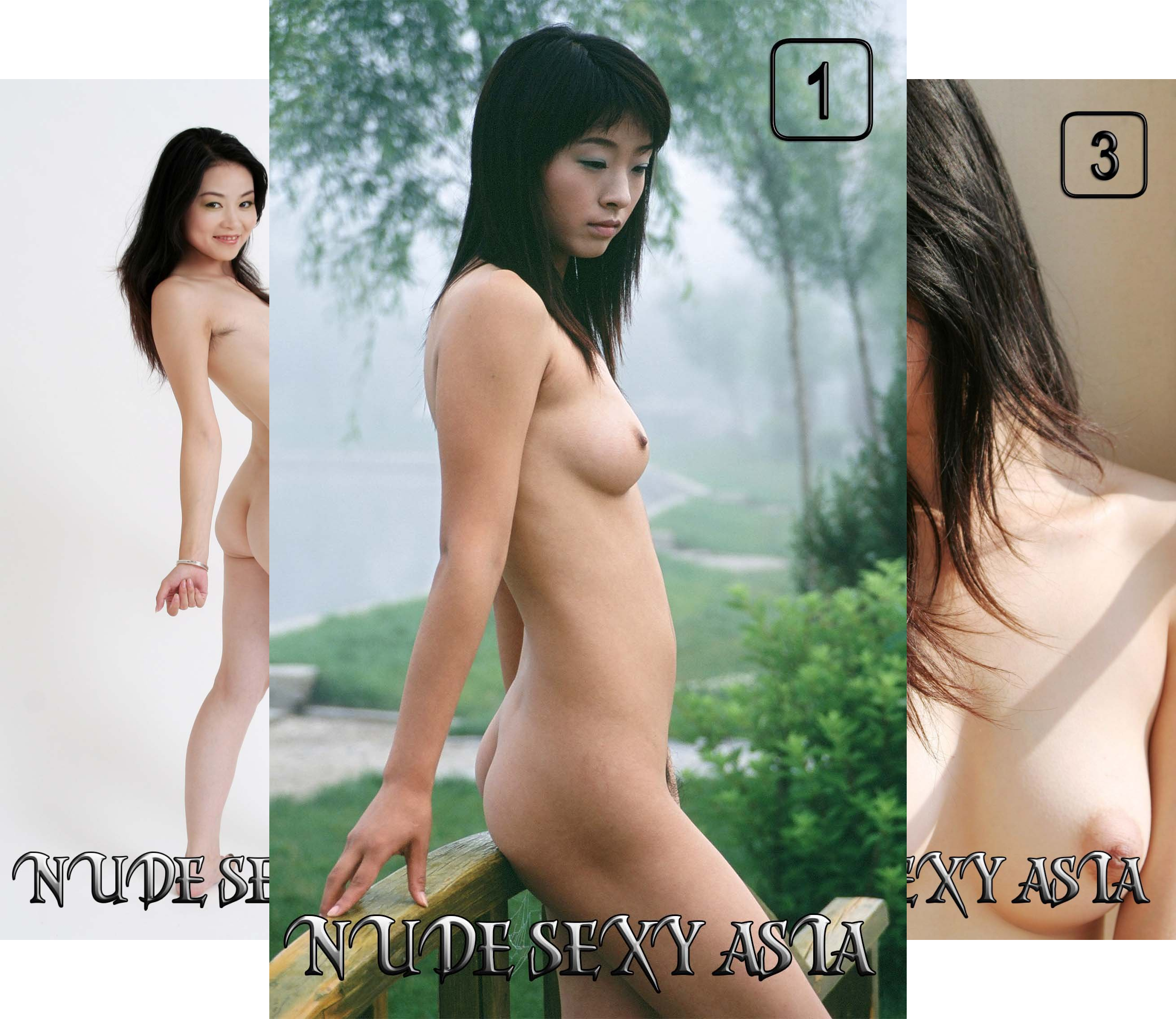 Nude Sexy Asia (40 Book Series)
