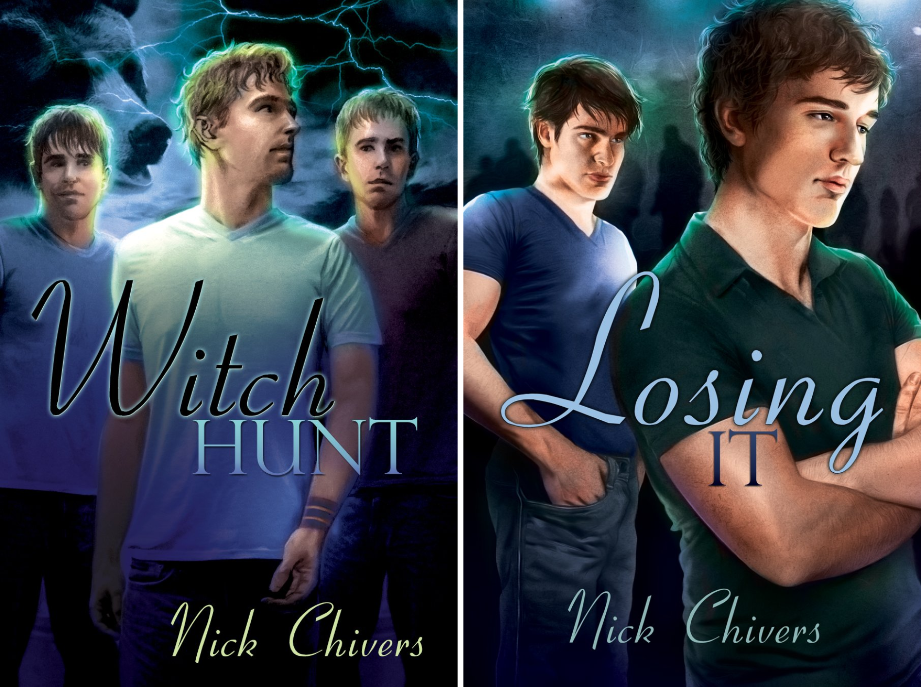 Witch Hunt and Losing It (2 Book Series)