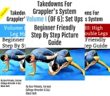 Takedowns For Grapplers (4 Book Series)
