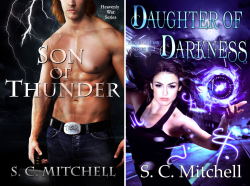 Heavenly War Series (2 Book Series) by  S.C.  Mitchell S.C. Mitchell