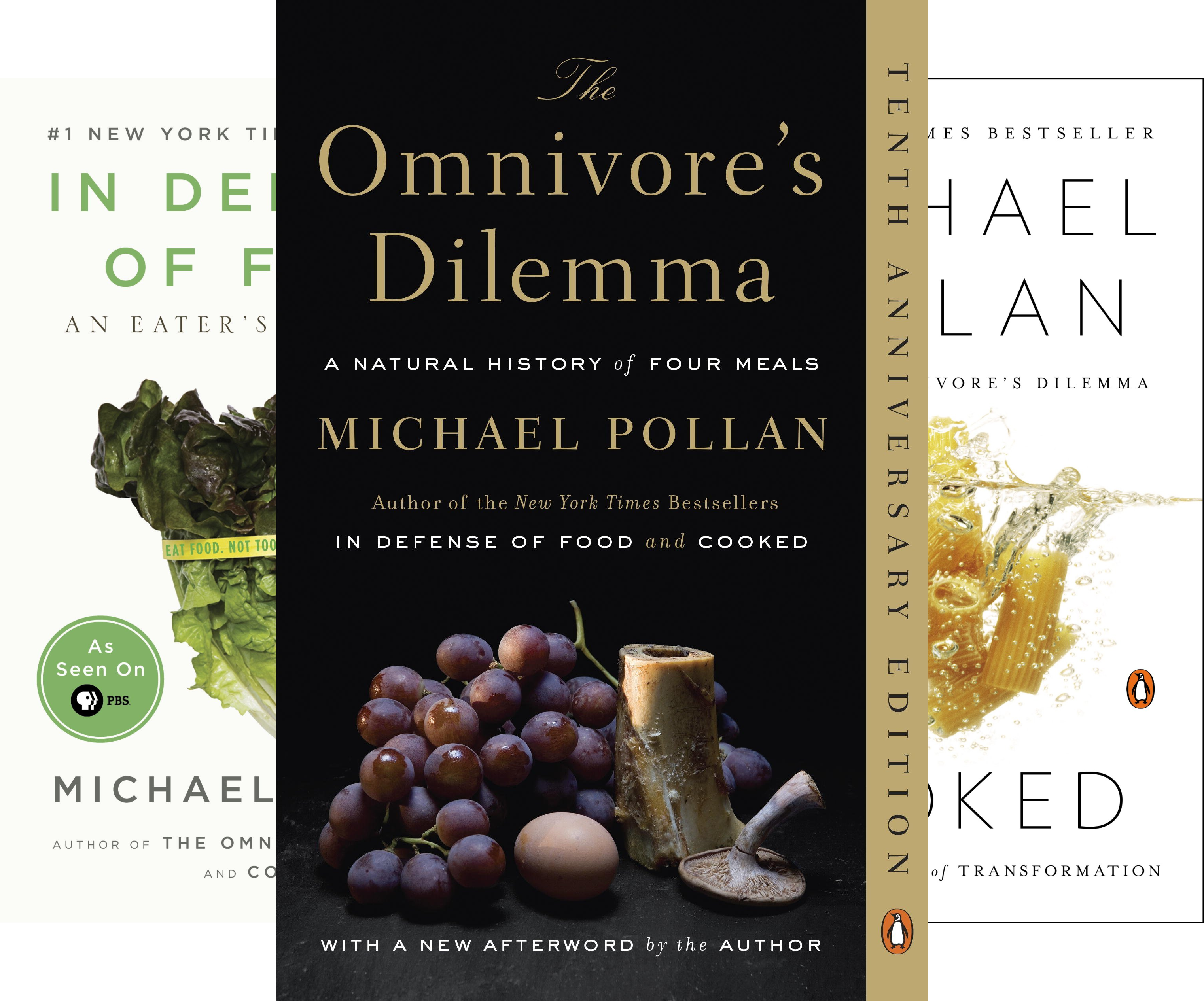 Pollan on Food Boxed Set (3 Book Series)