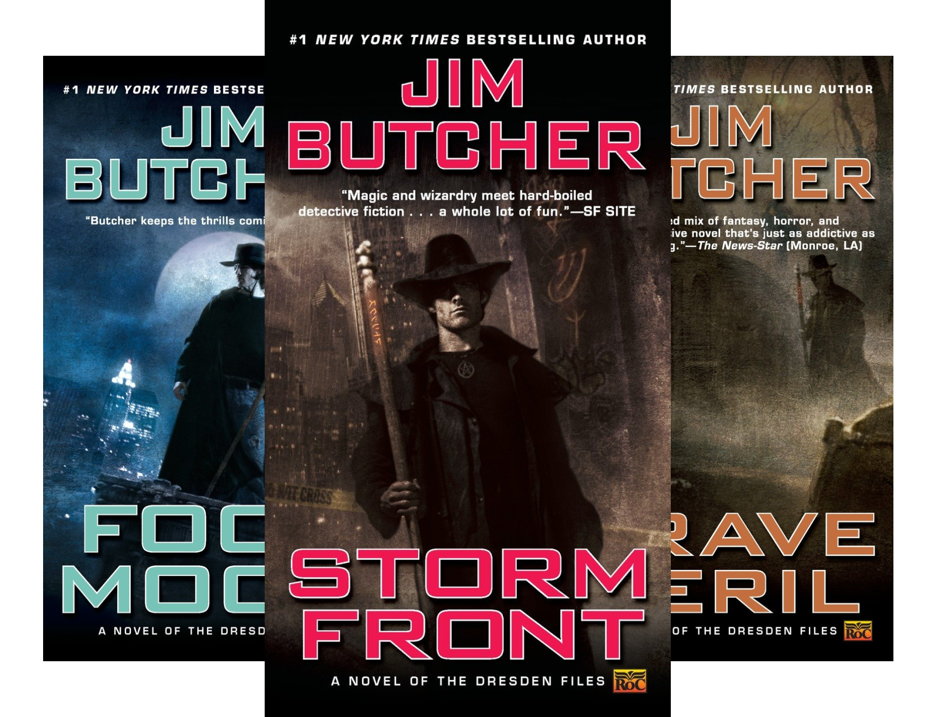 Jim Butcher Box Set (Dresden Files) (3 Book Series)