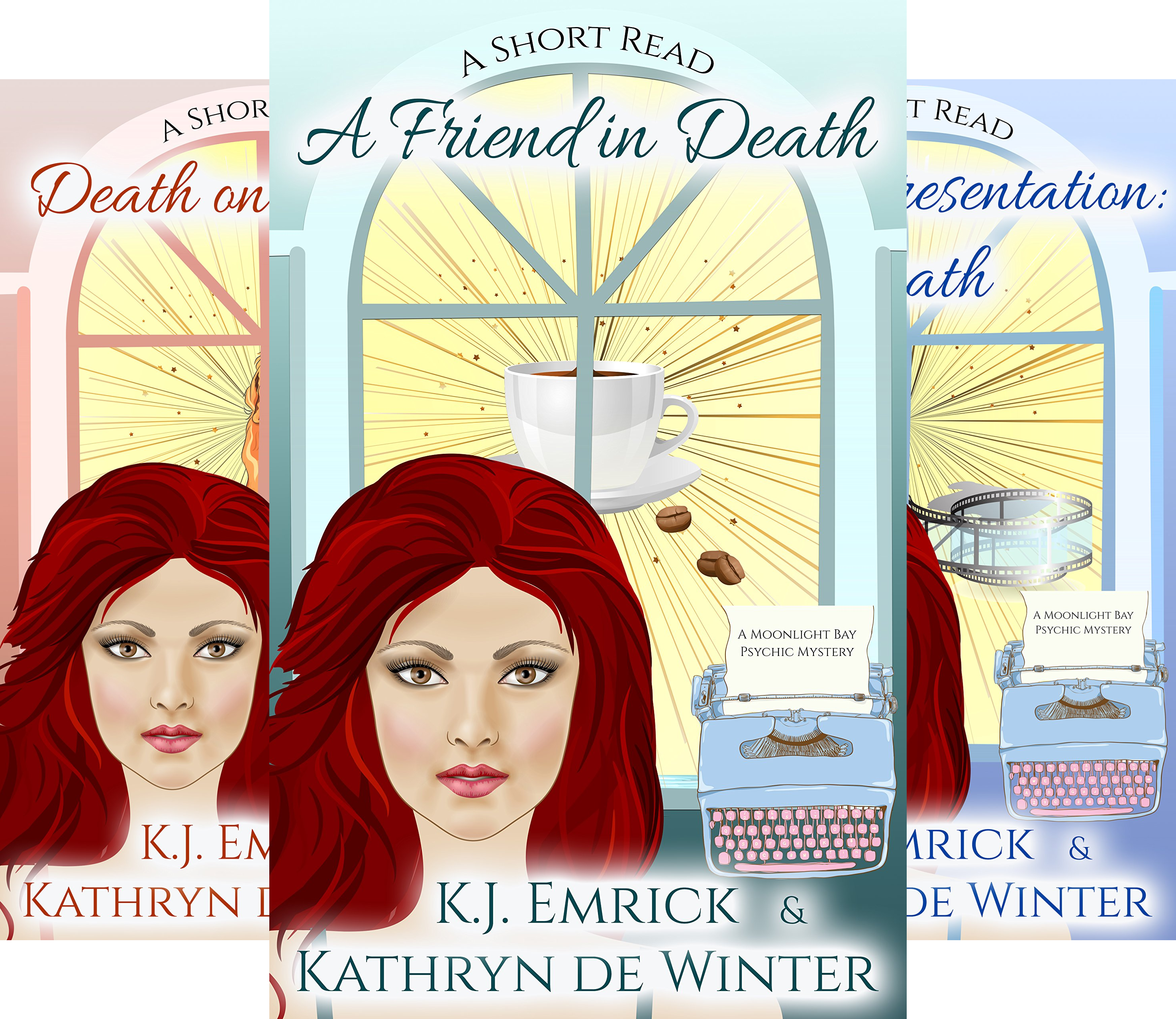 A Moonlight Bay Psychic Mystery (4 Book Series)