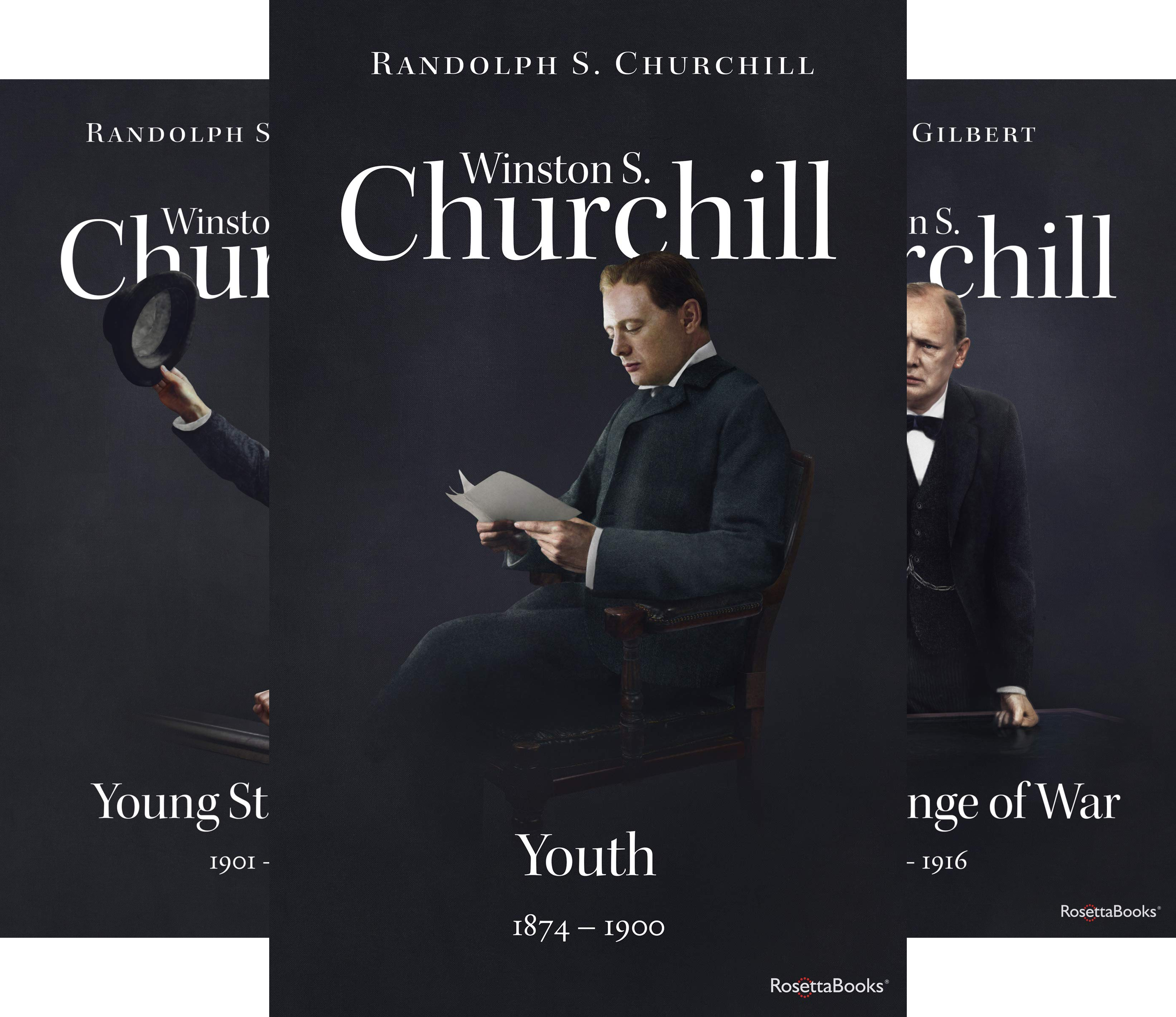 Winston S. Churchill Biography (5 Book Series)