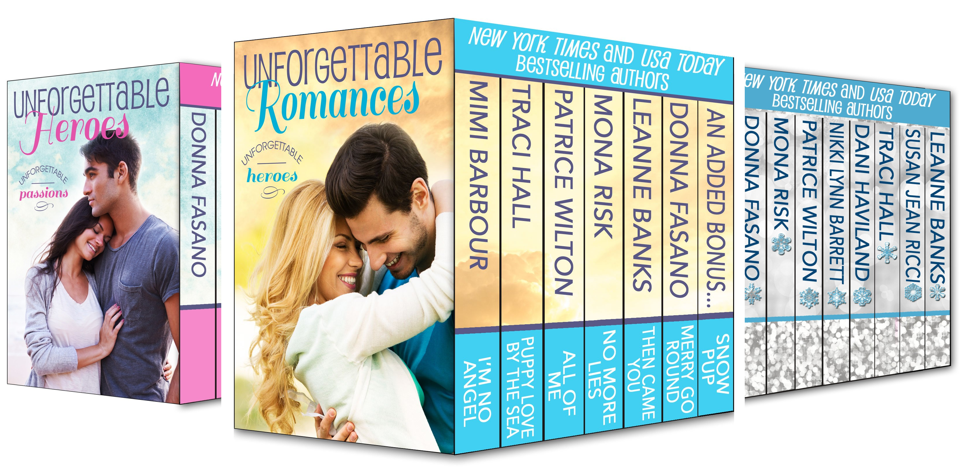 The Unforgettables (5 Book Series)