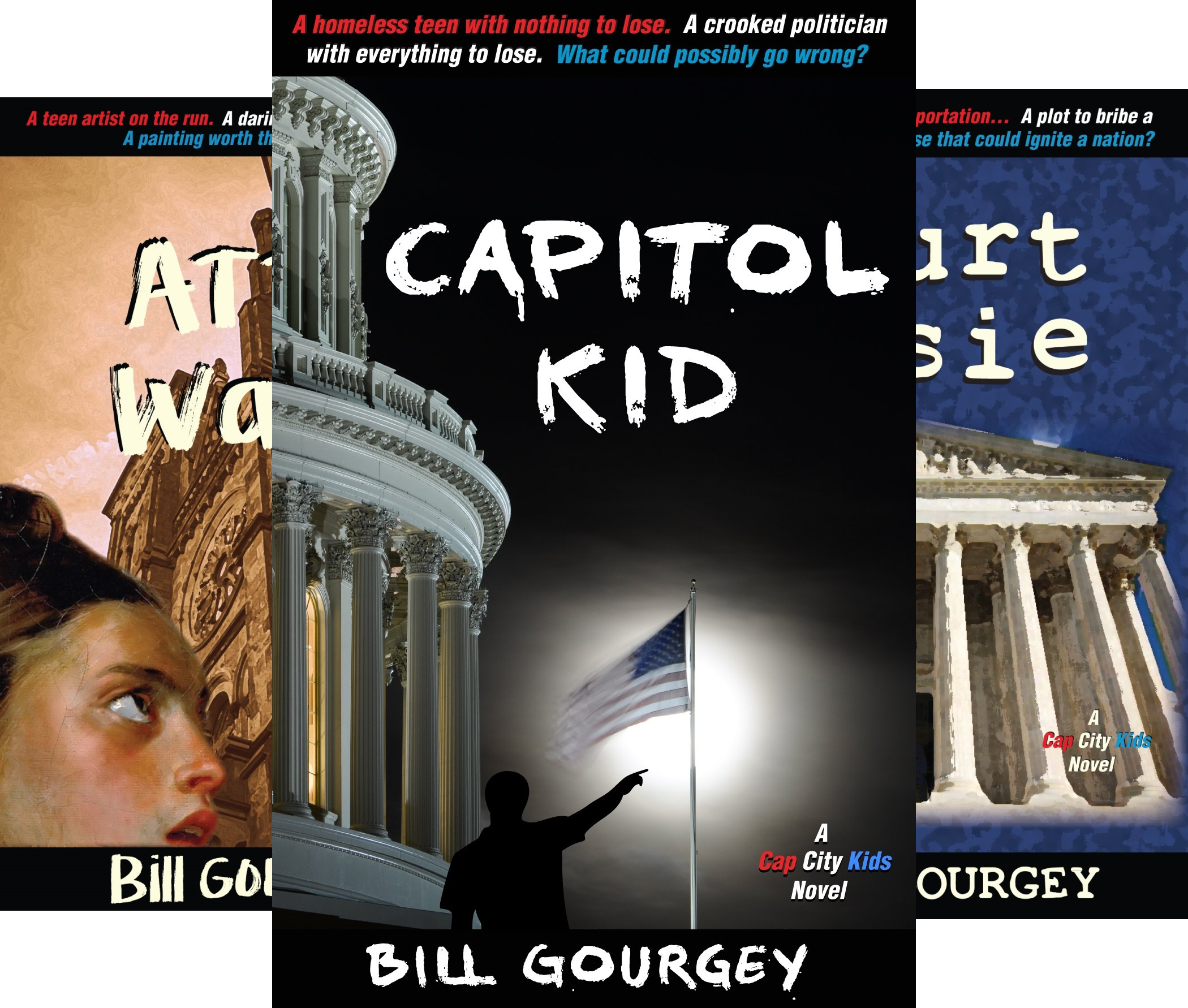 Cap City Kids (3 Book Series)