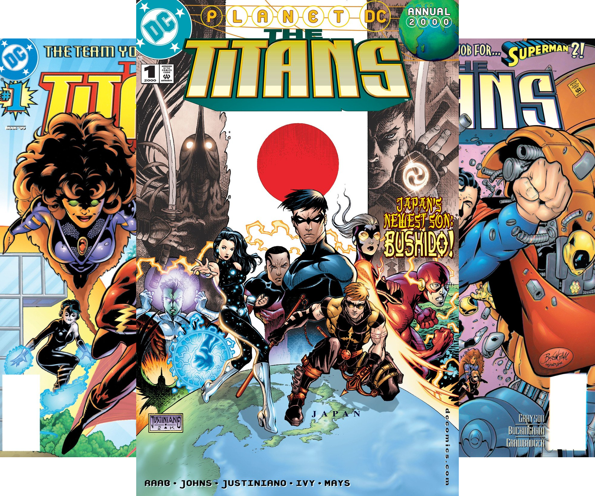 The Titans (1999-2003) (Issues) (50 Book Series)