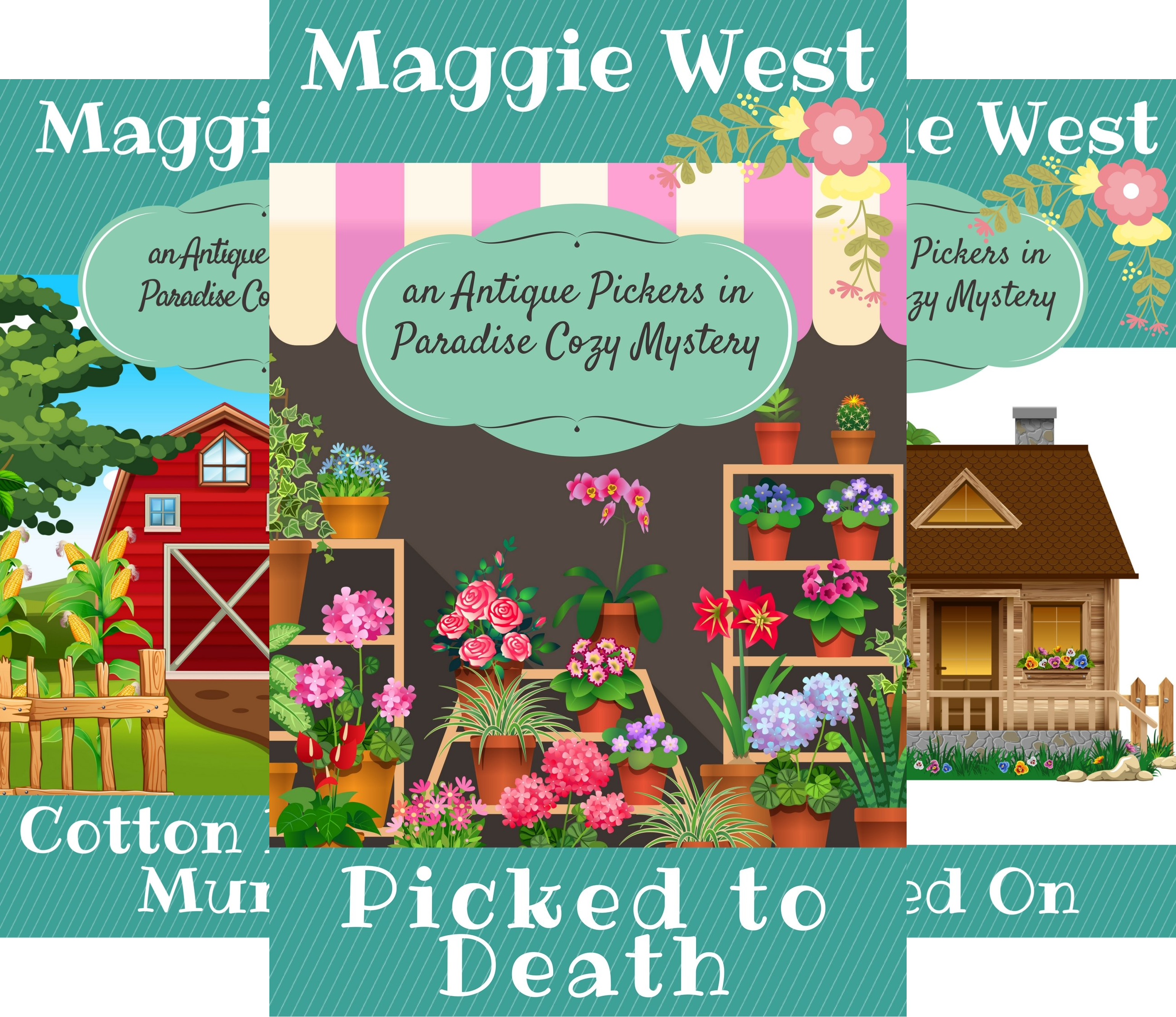 Antique Pickers in Paradise Cozy Mystery (6 Book Series)