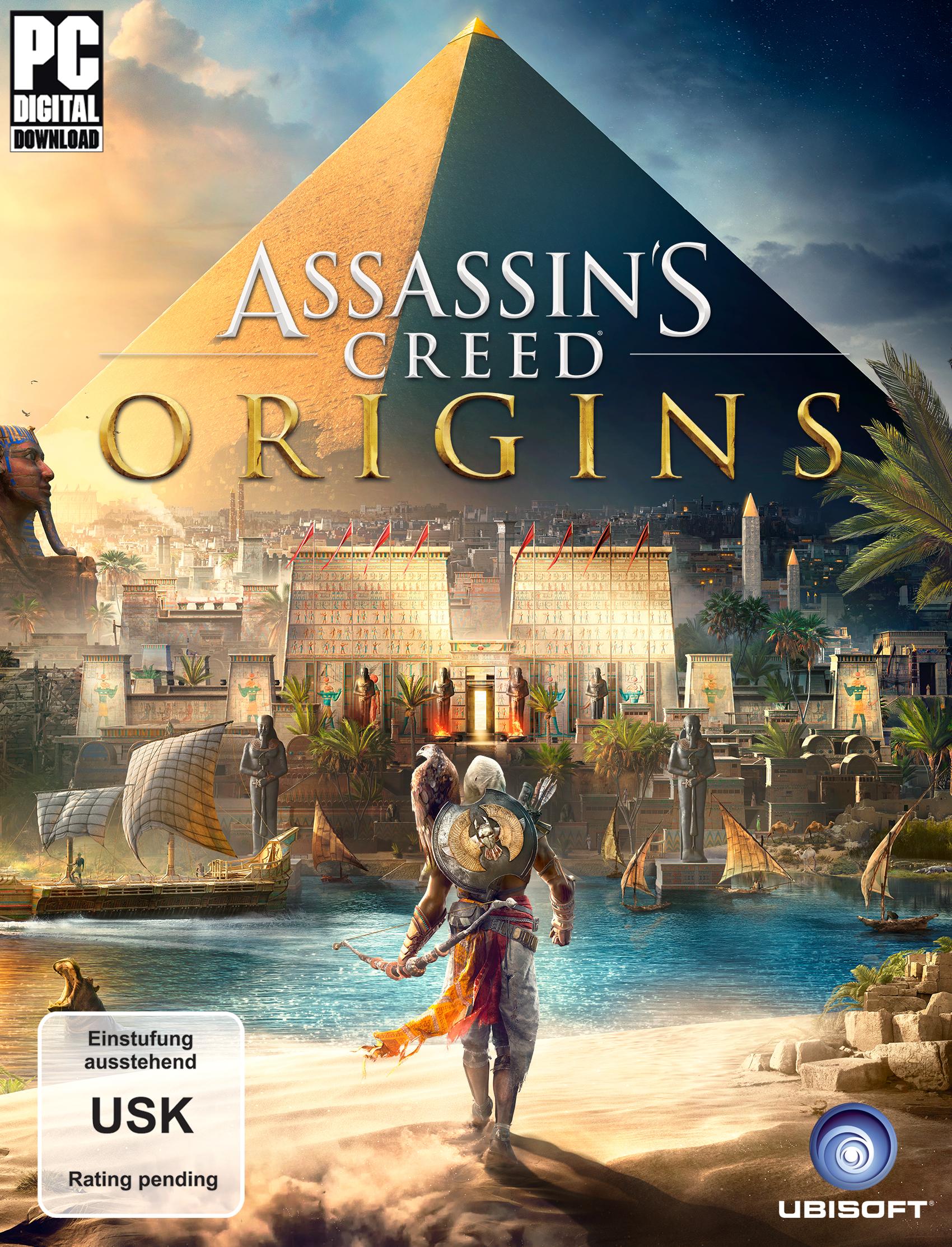 Assassin\'s Creed Origins - Gold Edition - [PlayStation 4]: Amazon.de ...