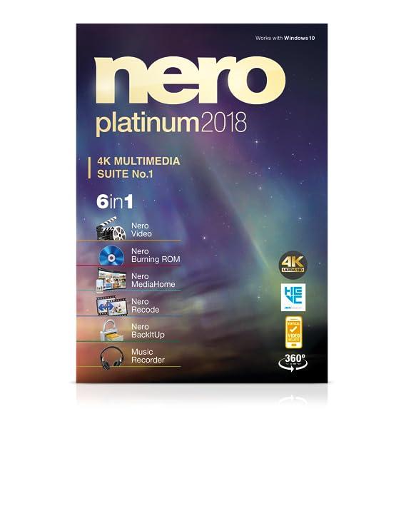 Amazon nero platinum 2018 software ccuart Gallery