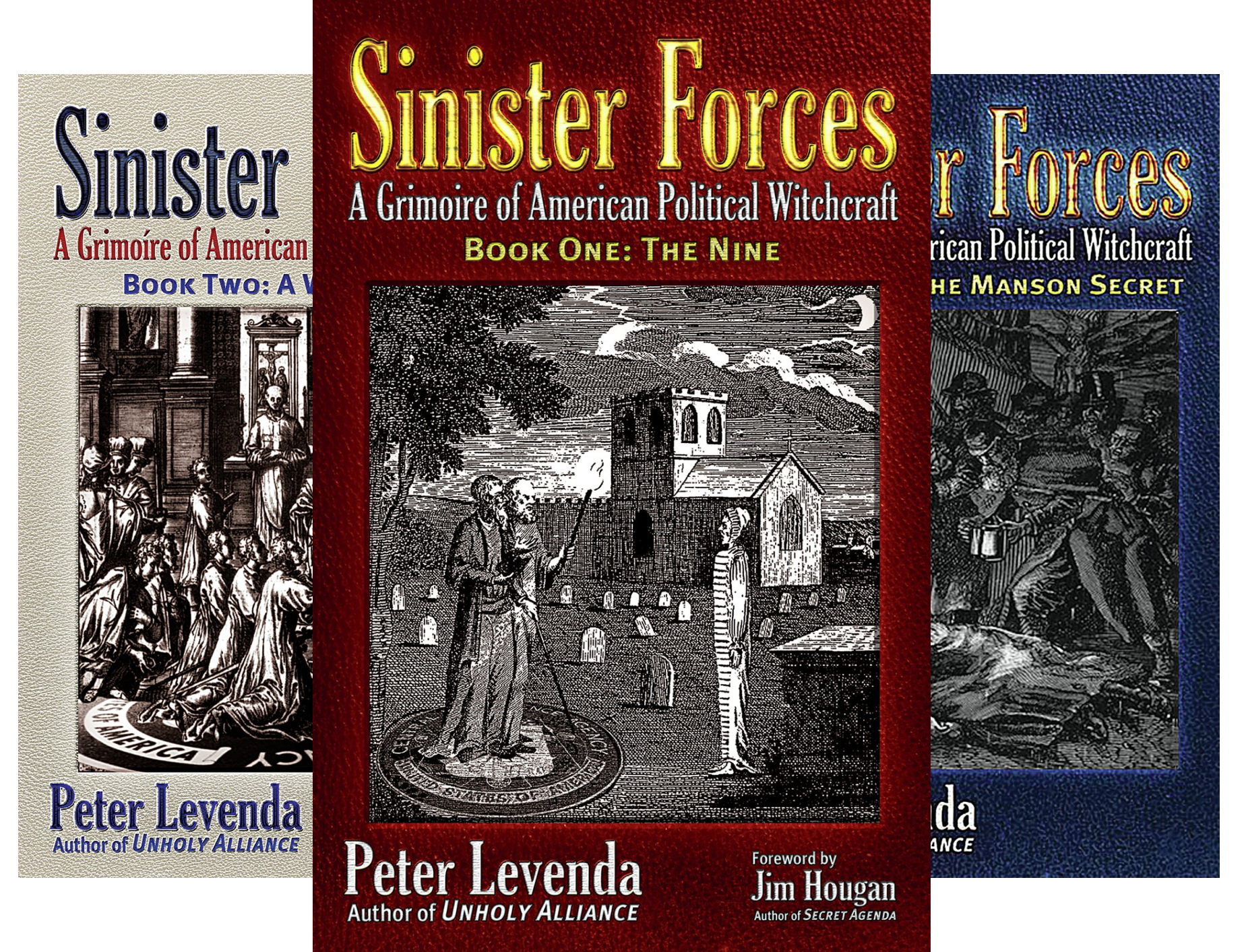 Sinister Forces (3 Book Series)
