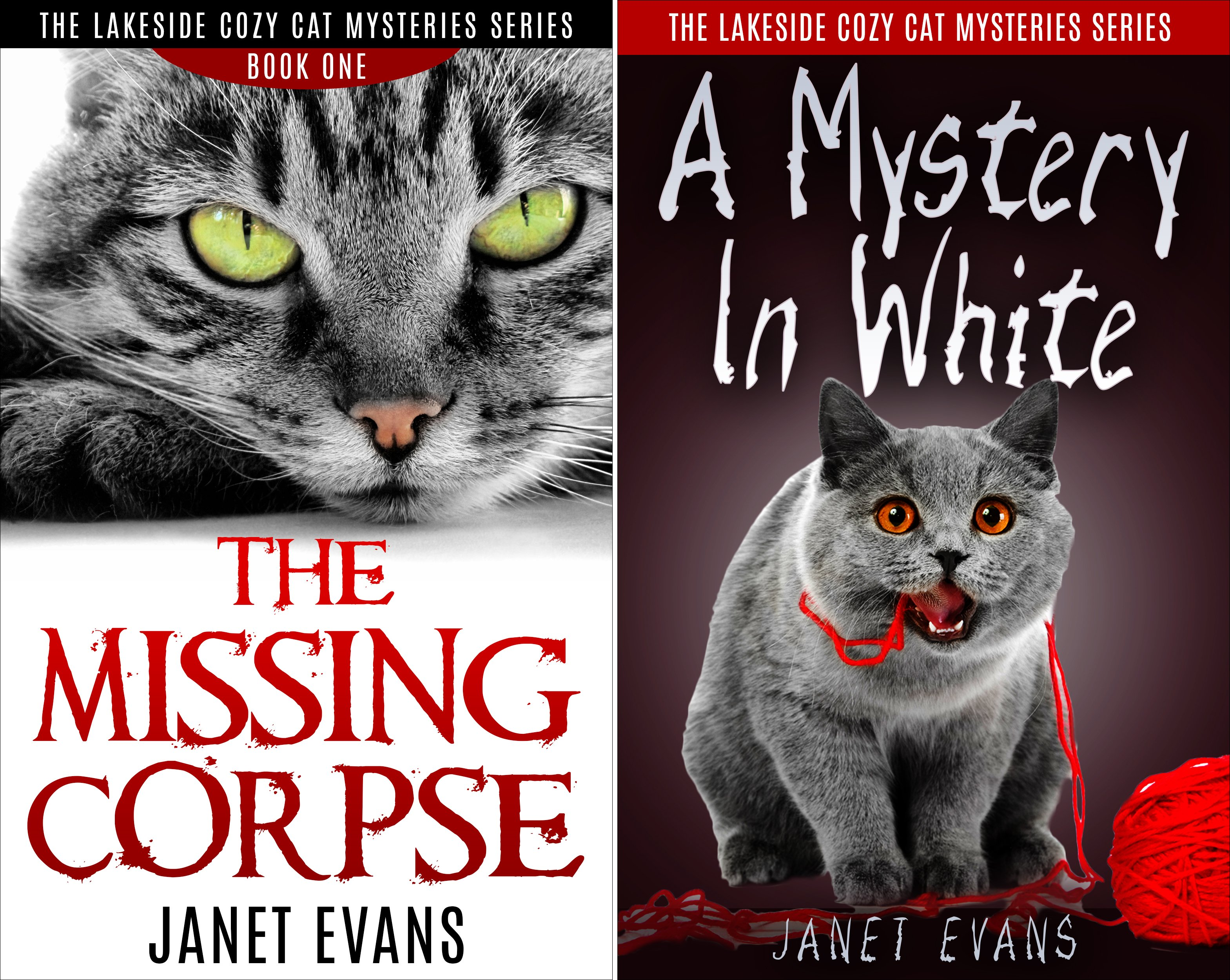The Lakeside Cozy Cat Mysteries Series (2 Book Series)
