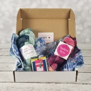 Southern Skeins Hand Dyed Yarns Subscription Box: Monthly Yarn Delivery for Knitting and Crocheting