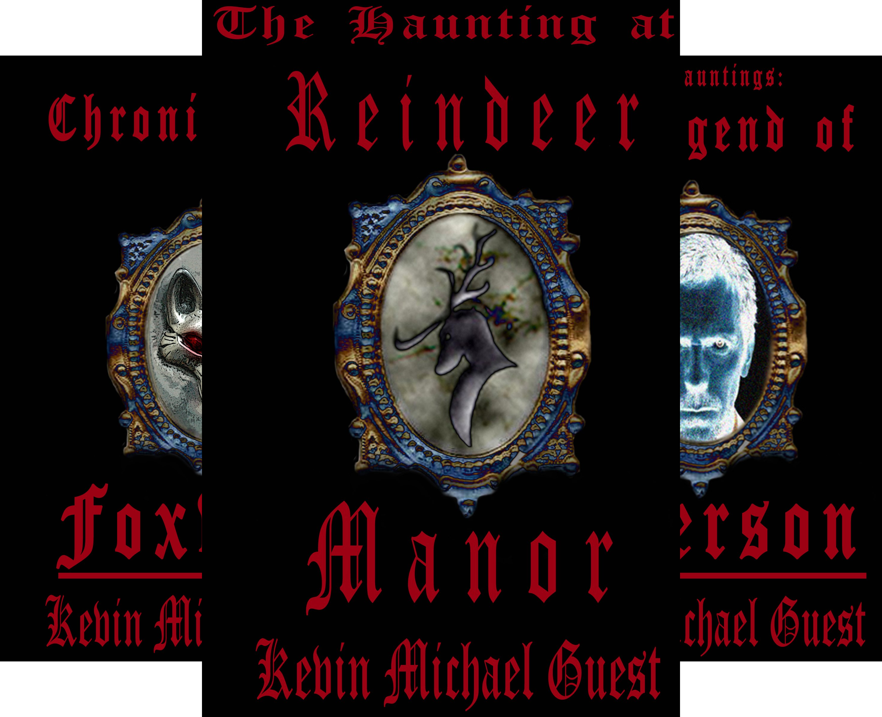 The Haunted Houses of Anderson (3 Book Series)