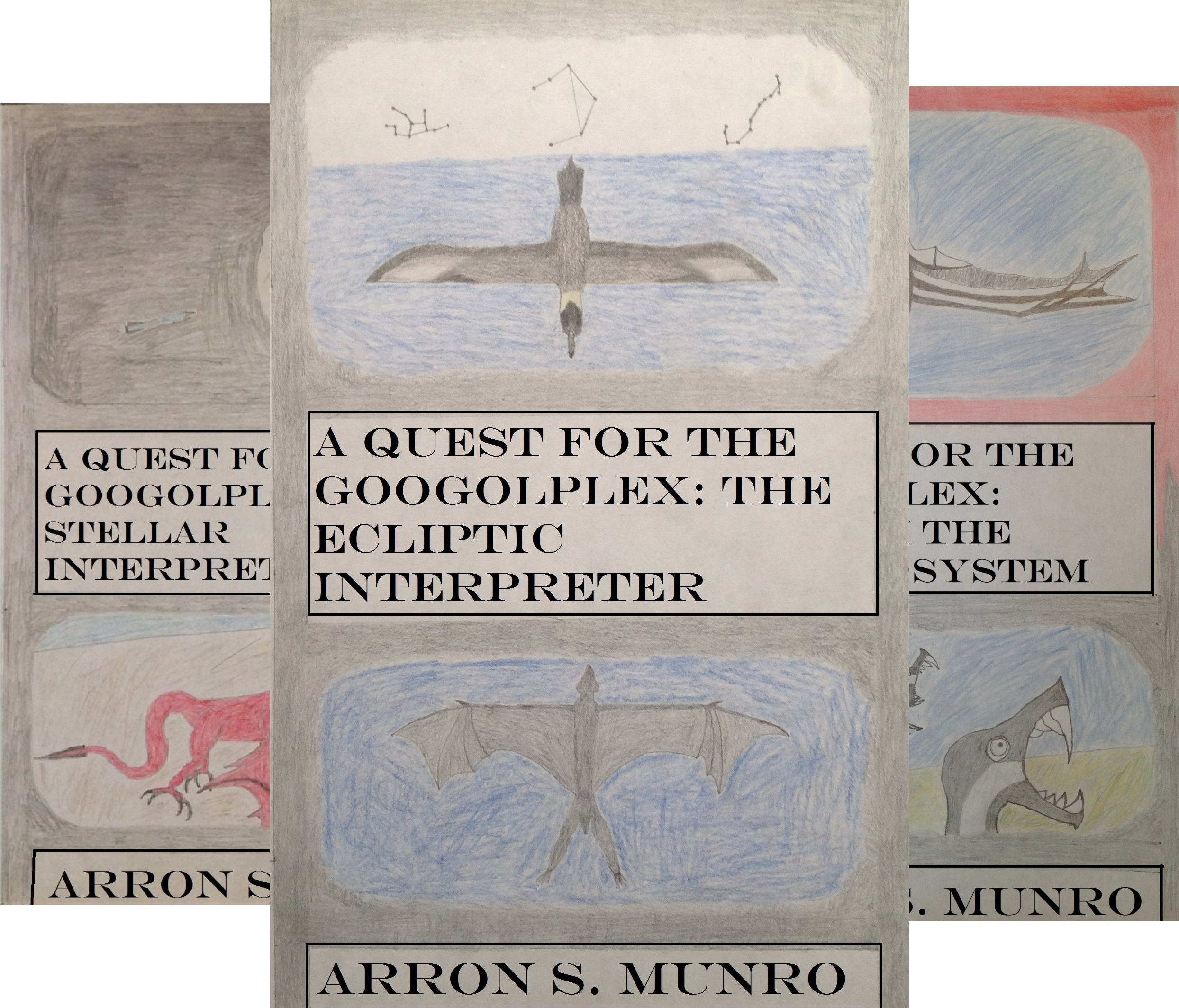The Chronicles the Googolplex (3 Book Series)