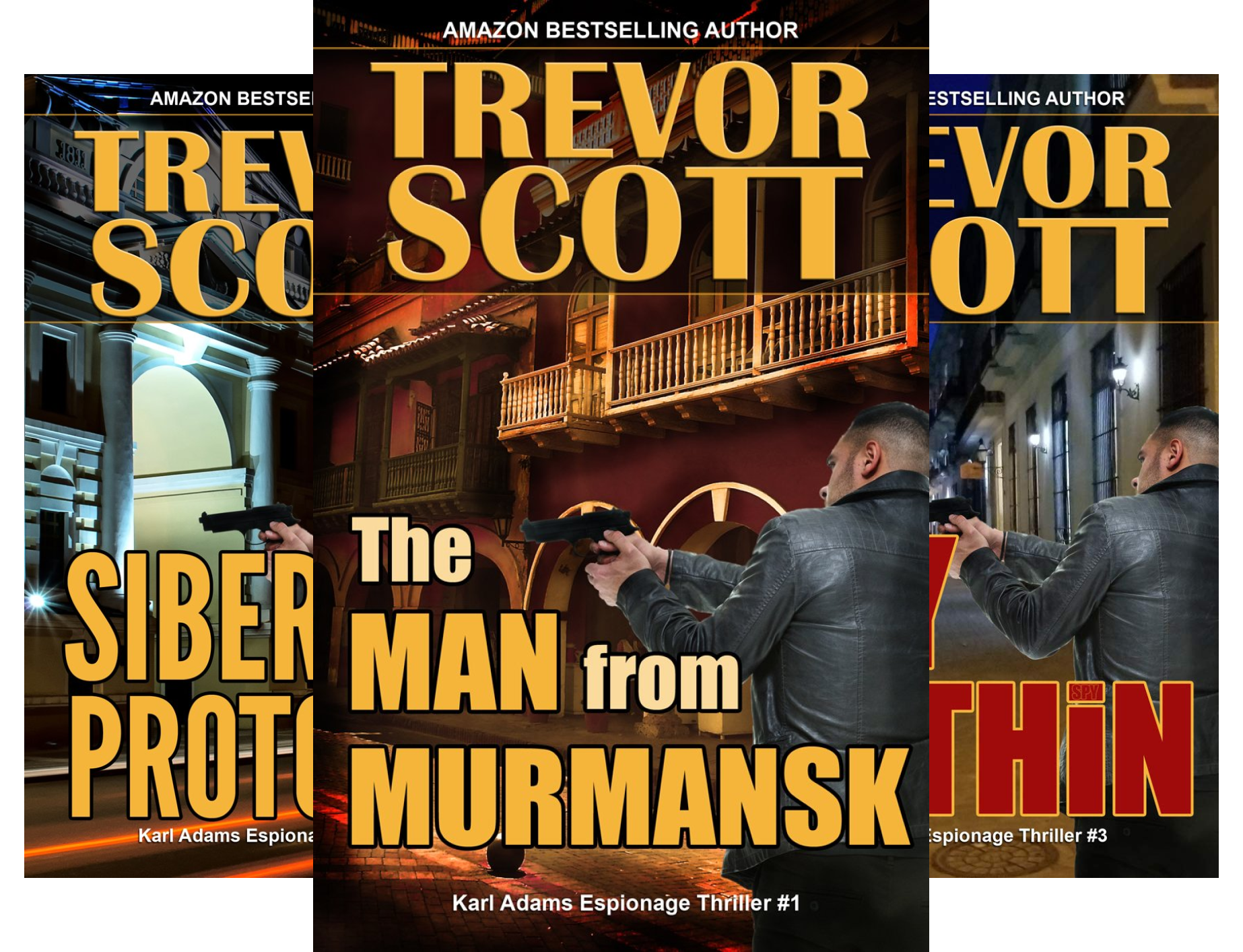 Karl Adams Espionage Thriller Series (3 Book Series)