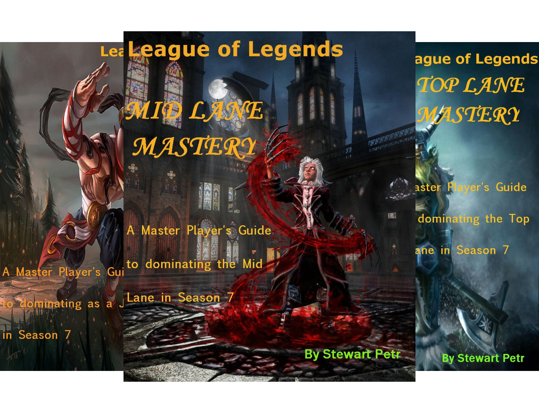 League of Legends Role Mastery (4 Book Series)