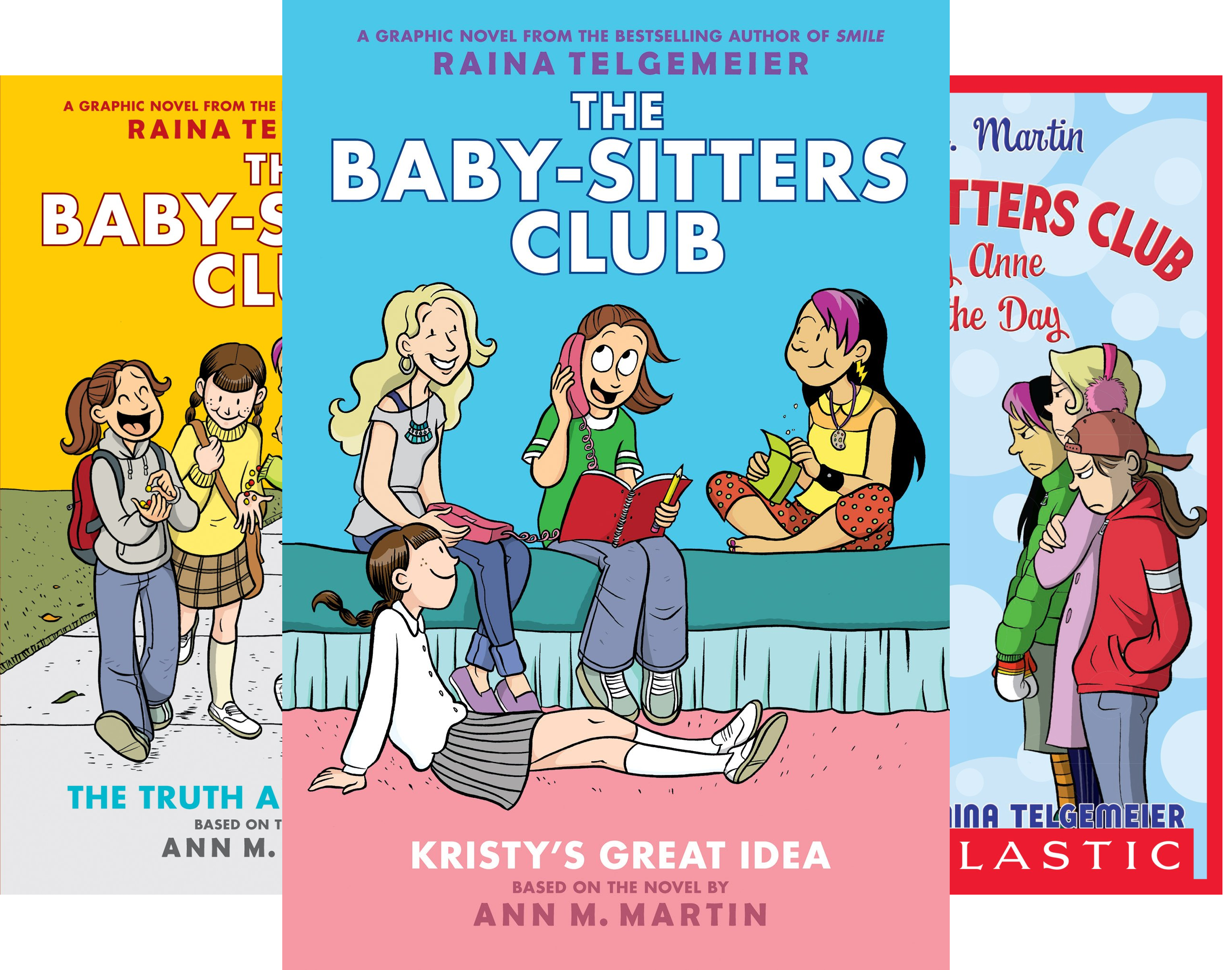 The Baby-Sitters Club Graphix (6 Book Series)